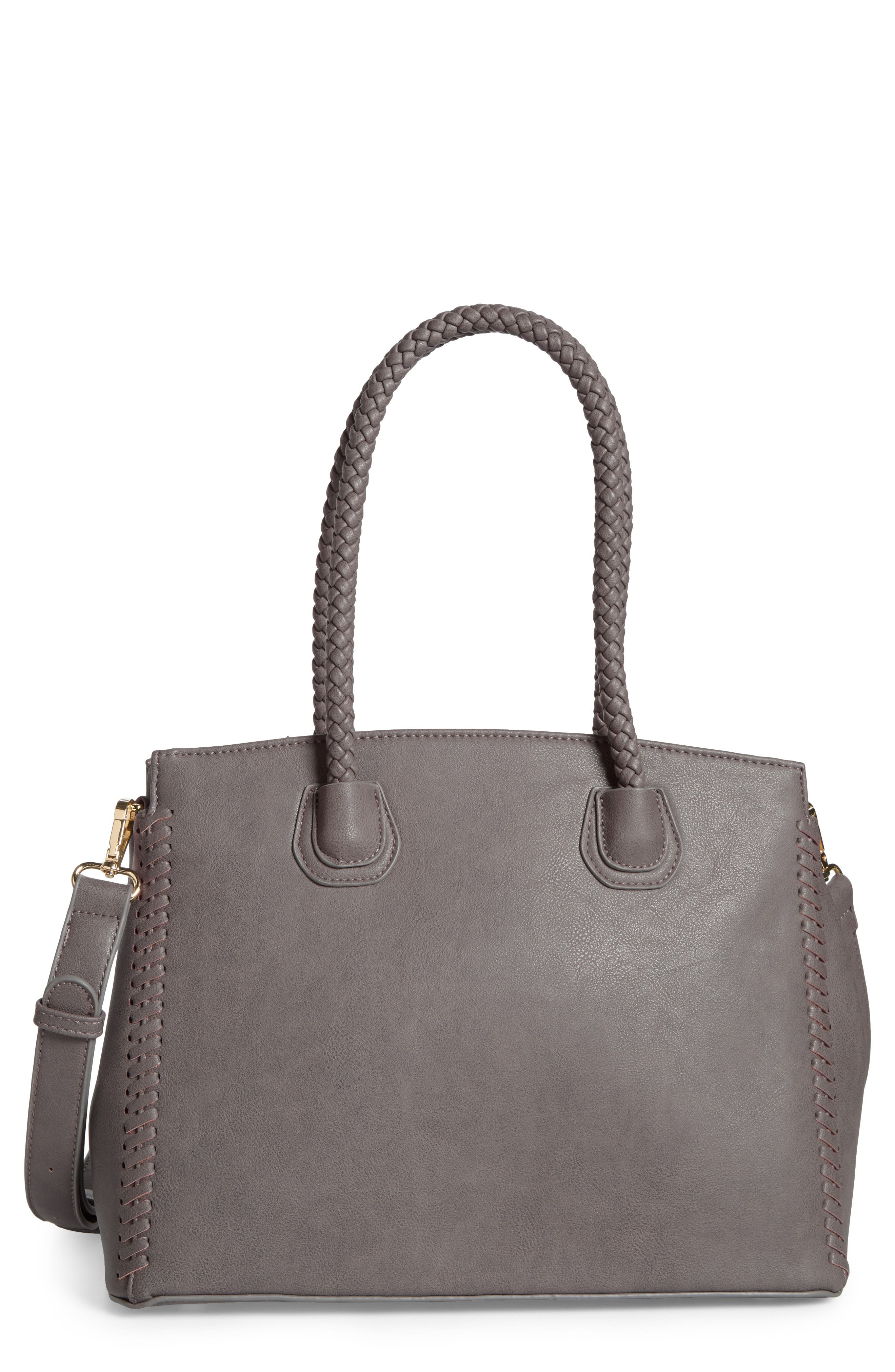 Grey Faux Leather Handbags & Purses | Nordstrom