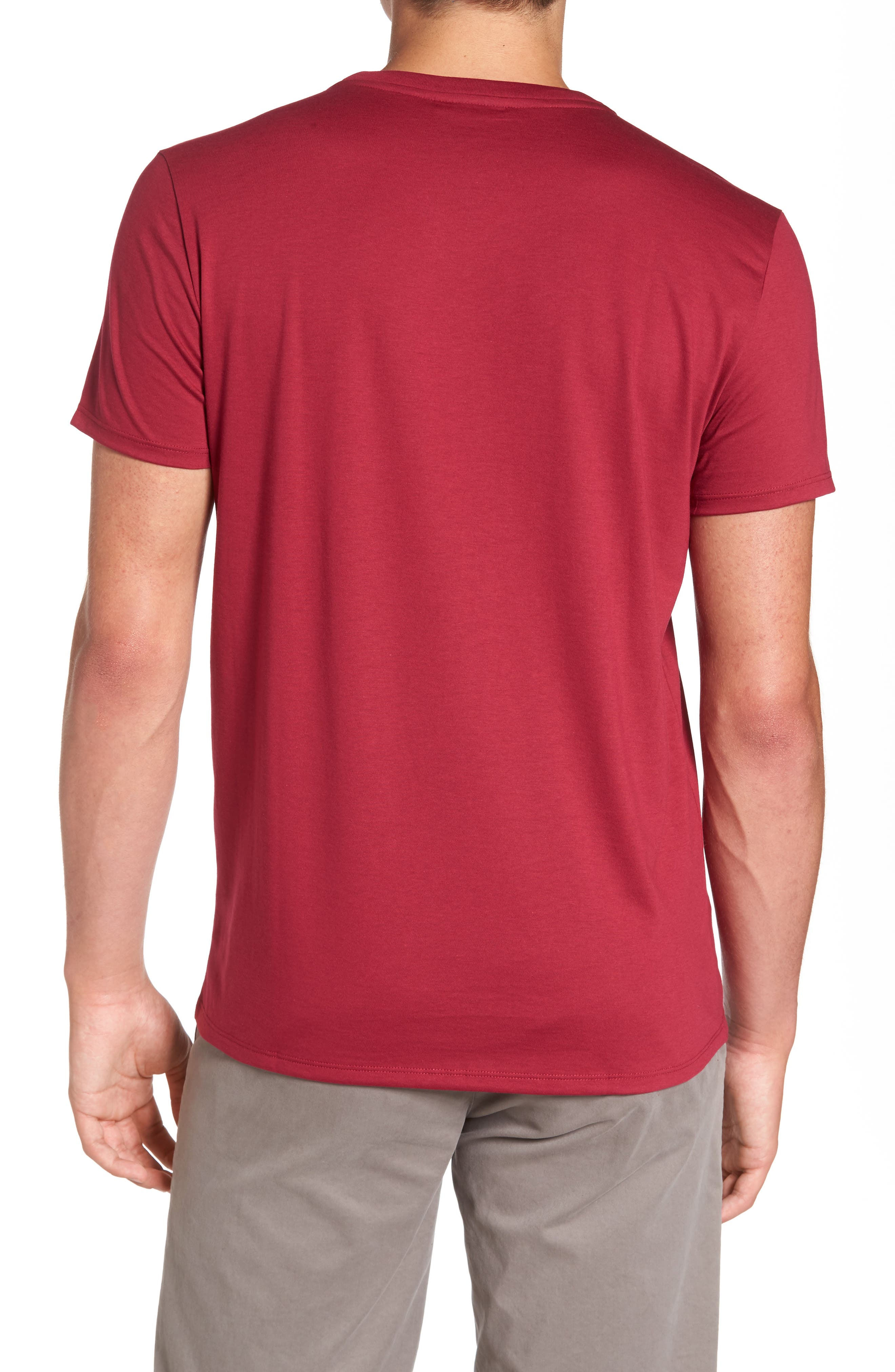 Alternate Image 2  - Lacoste Pima Cotton T-Shirt