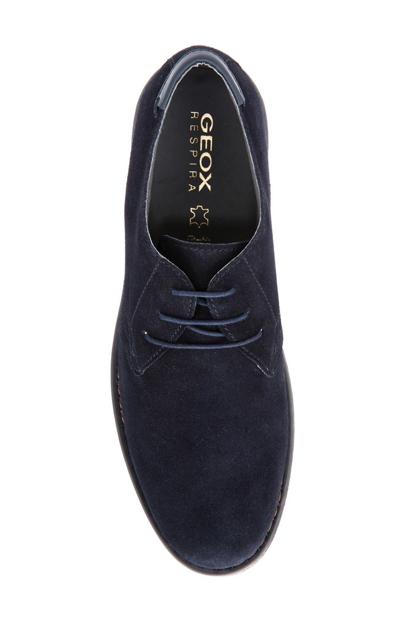 Alternate Image 5  - Geox Brandled Buck Shoe (Men)