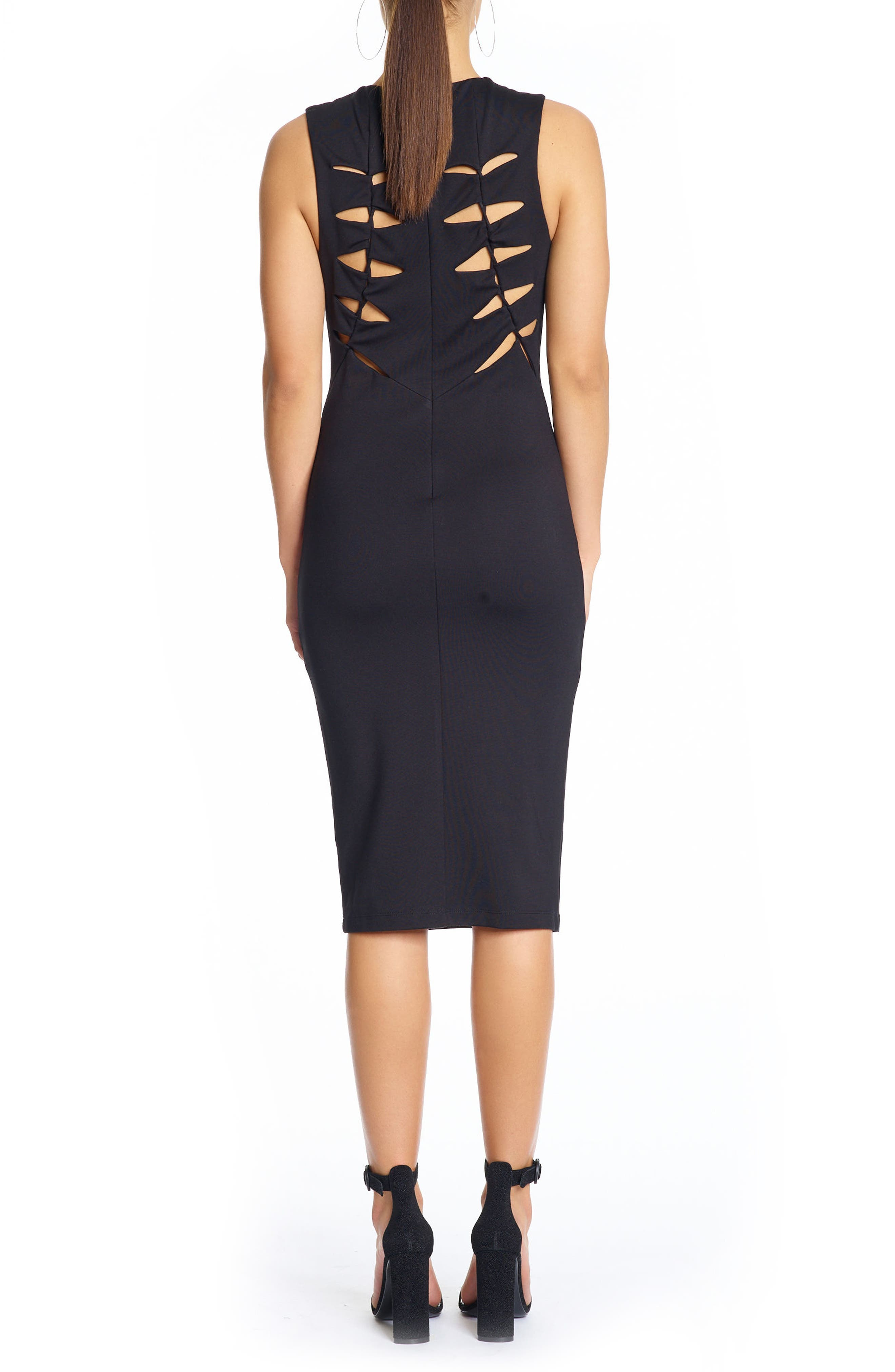 Alternate Image 2  - KENDALL + KYLIE Cutout Body-Con Dress