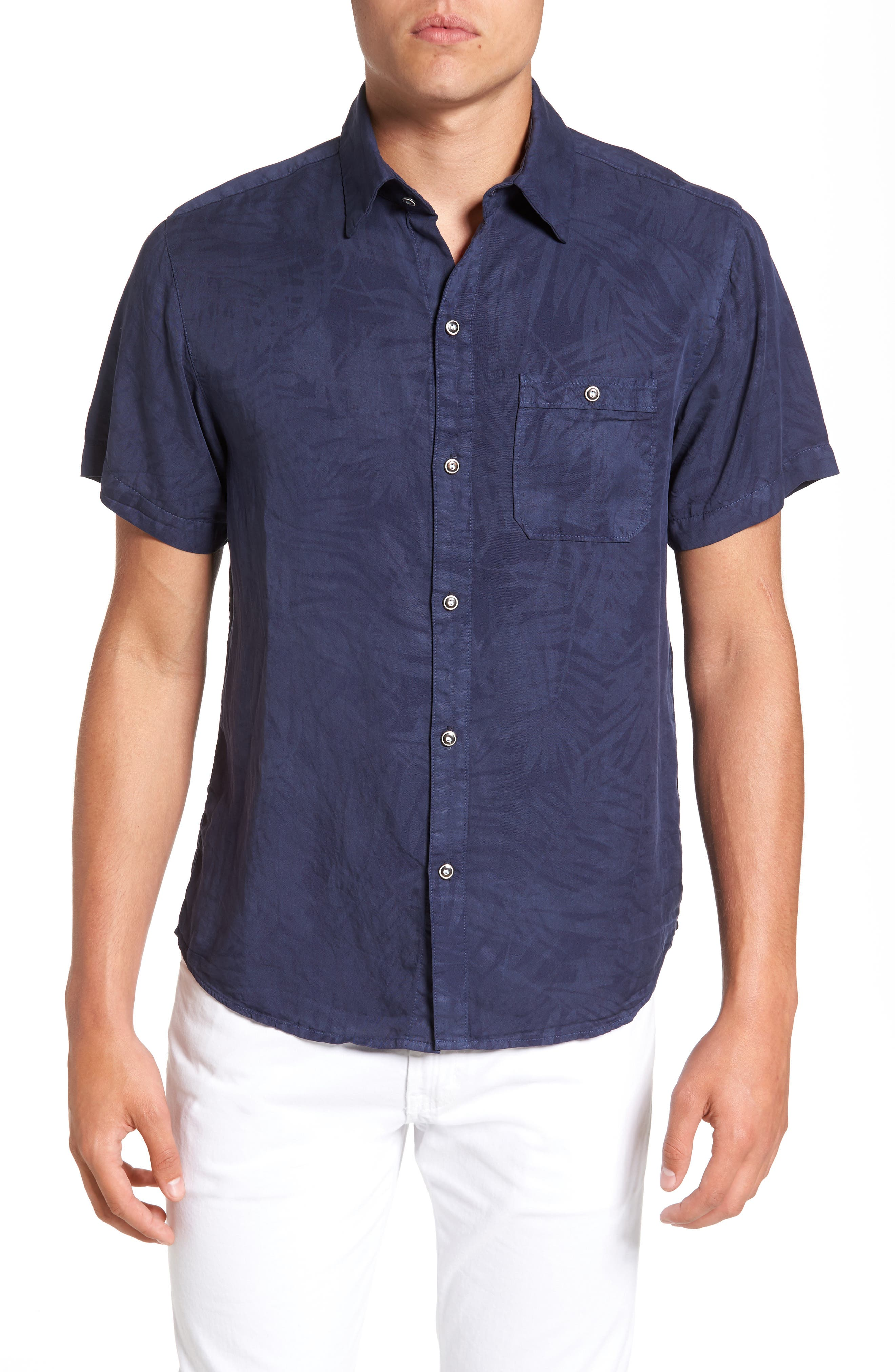 Sol Angeles Inverse Palm Woven Shirt