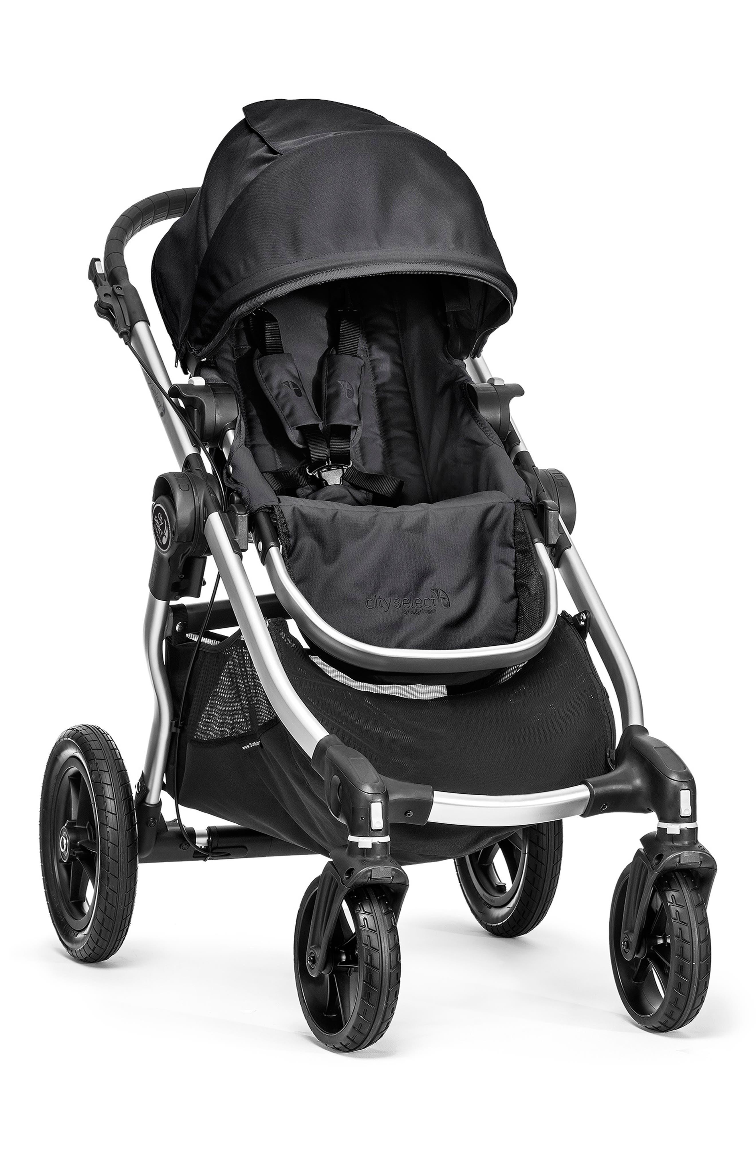 Baby Jogger City Select® Black Stroller & Belly Bar