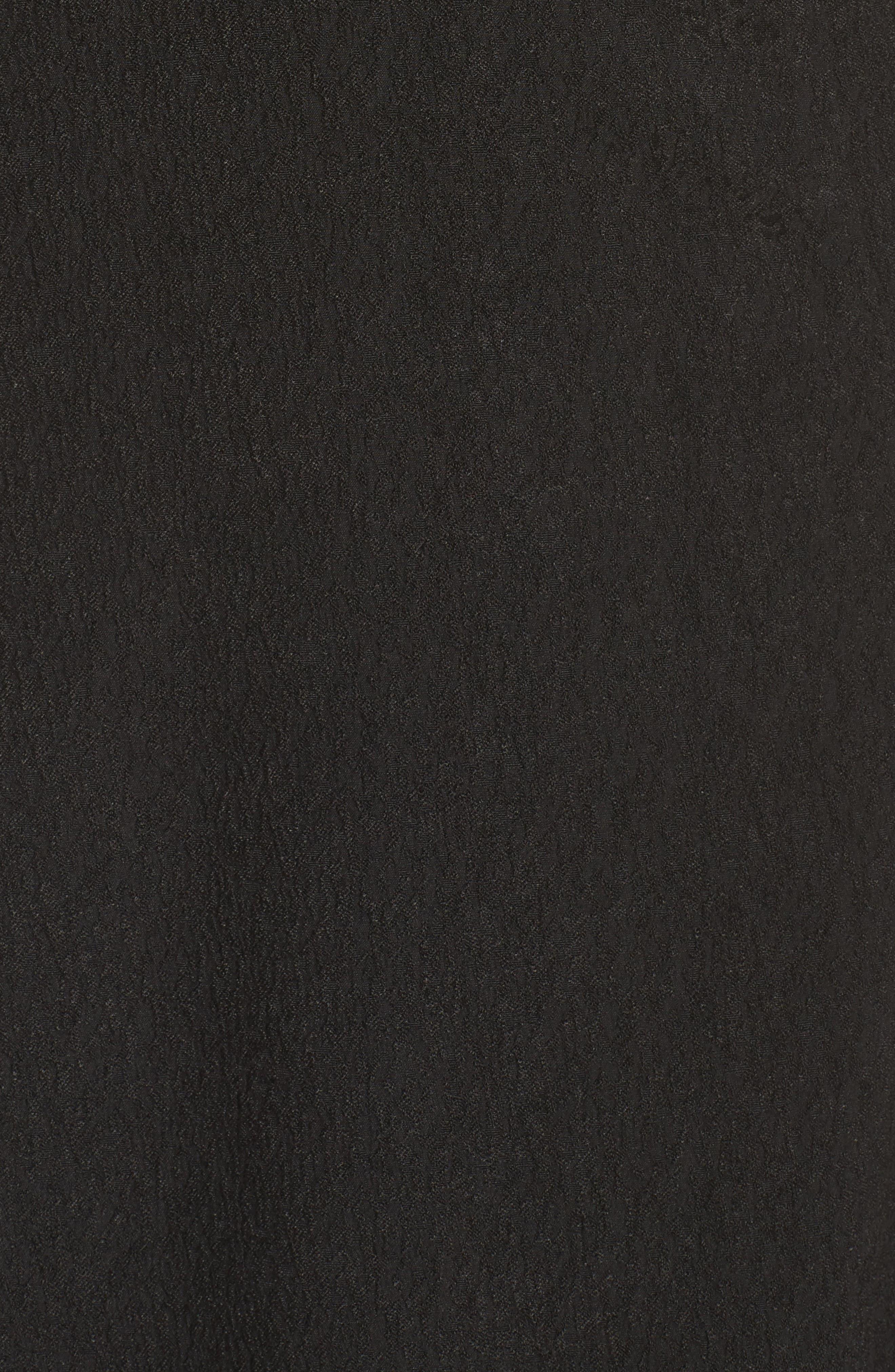 I Dream It Fit & Flare Dress,                             Alternate thumbnail 5, color,                             Black