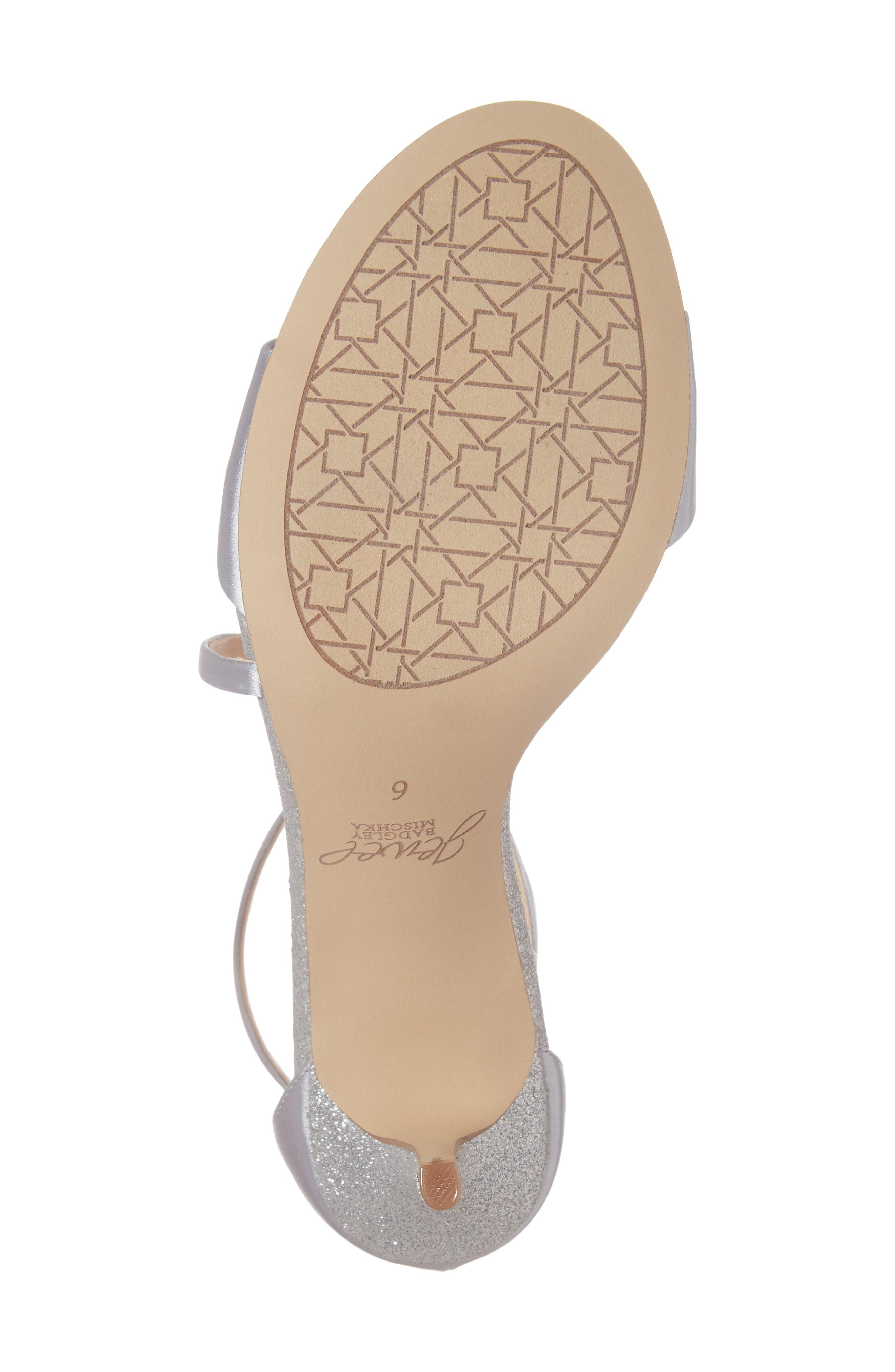 Alternate Image 6  - Jewel Badgley Mischka Leighton Embellished Strappy Sandal (Women)