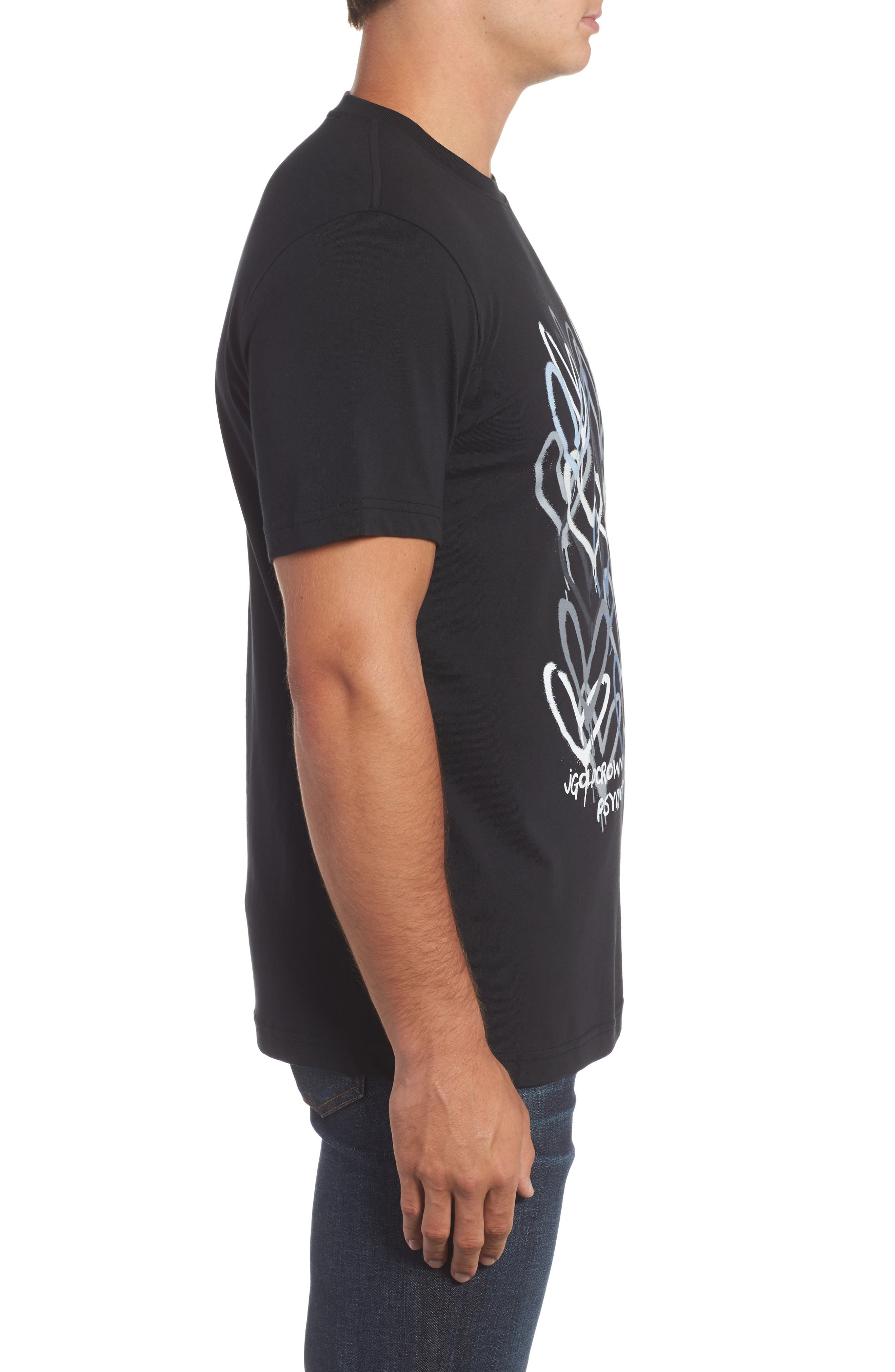 Alternate Image 3  - Psycho Bunny Goldcrown Graphic T-Shirt