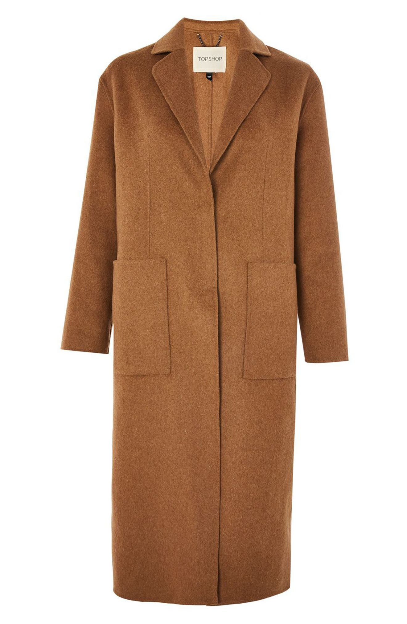 Alternate Image 3  - Topshop Long Coat