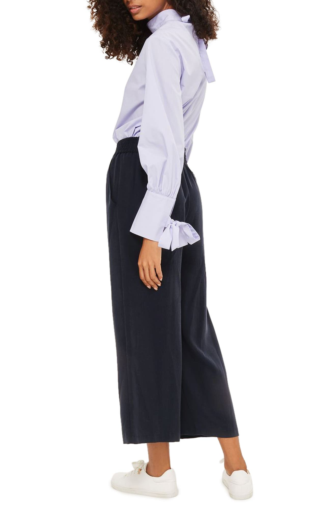 Alternate Image 2  - Topshop Wide Leg Trousers