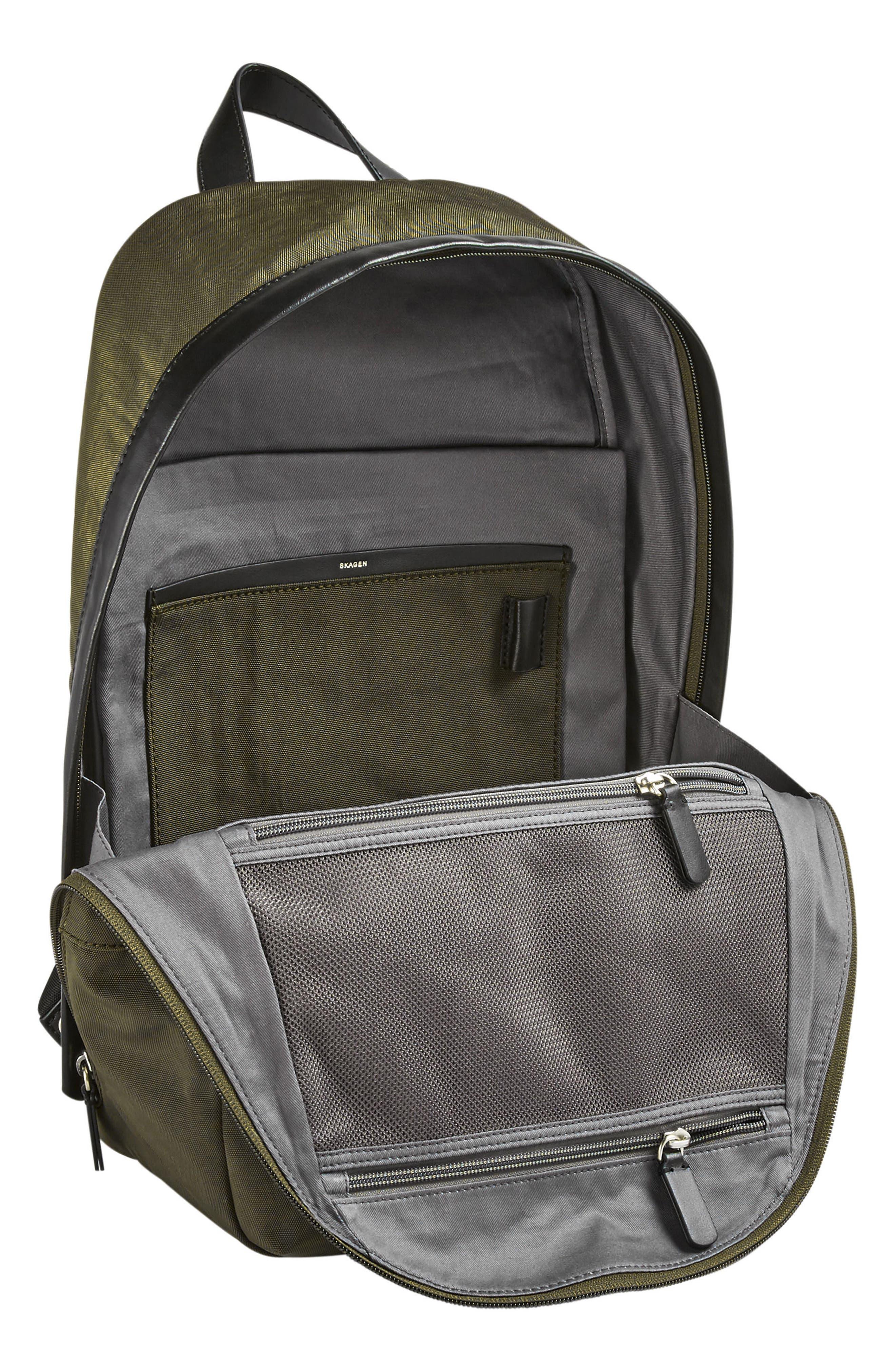 Kroyer Backpack,                             Alternate thumbnail 3, color,                             Dark Green