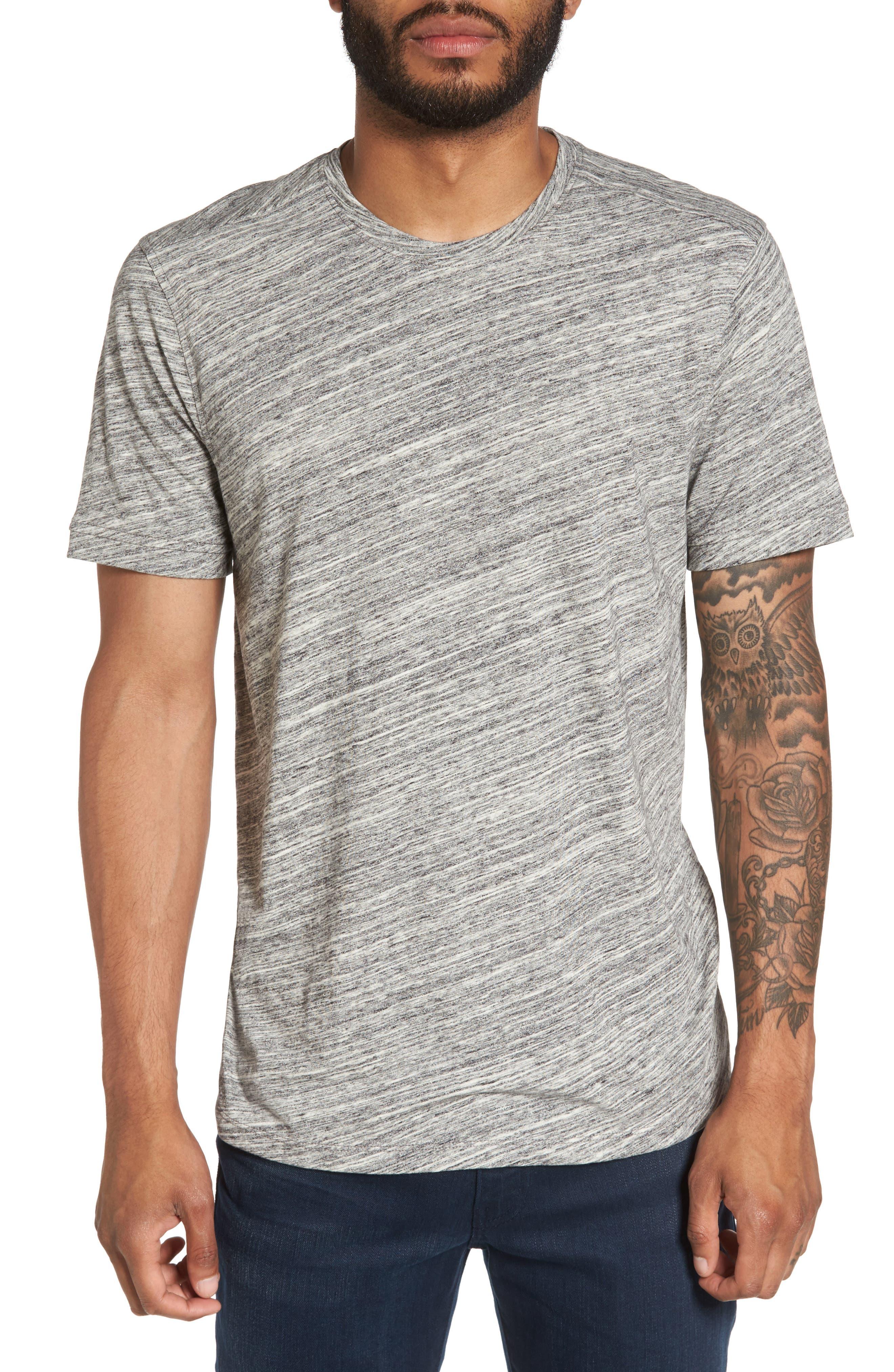 Texture T-Shirt,                         Main,                         color, Ivory Egret Spacedye
