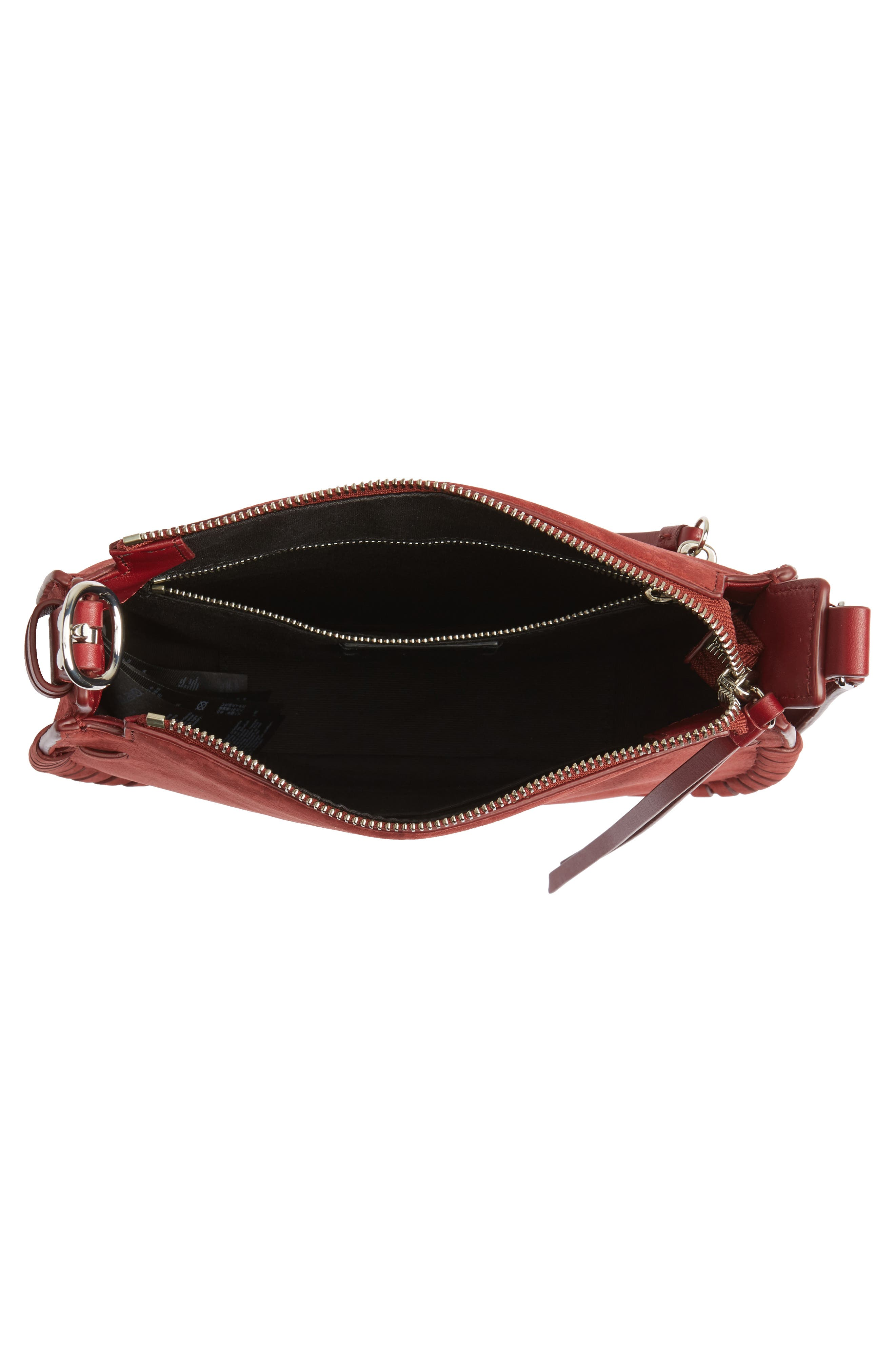 Alternate Image 4  - ALLSAINTS Ray Nubuck Crossbody Bag (Nordstrom Exclusive)