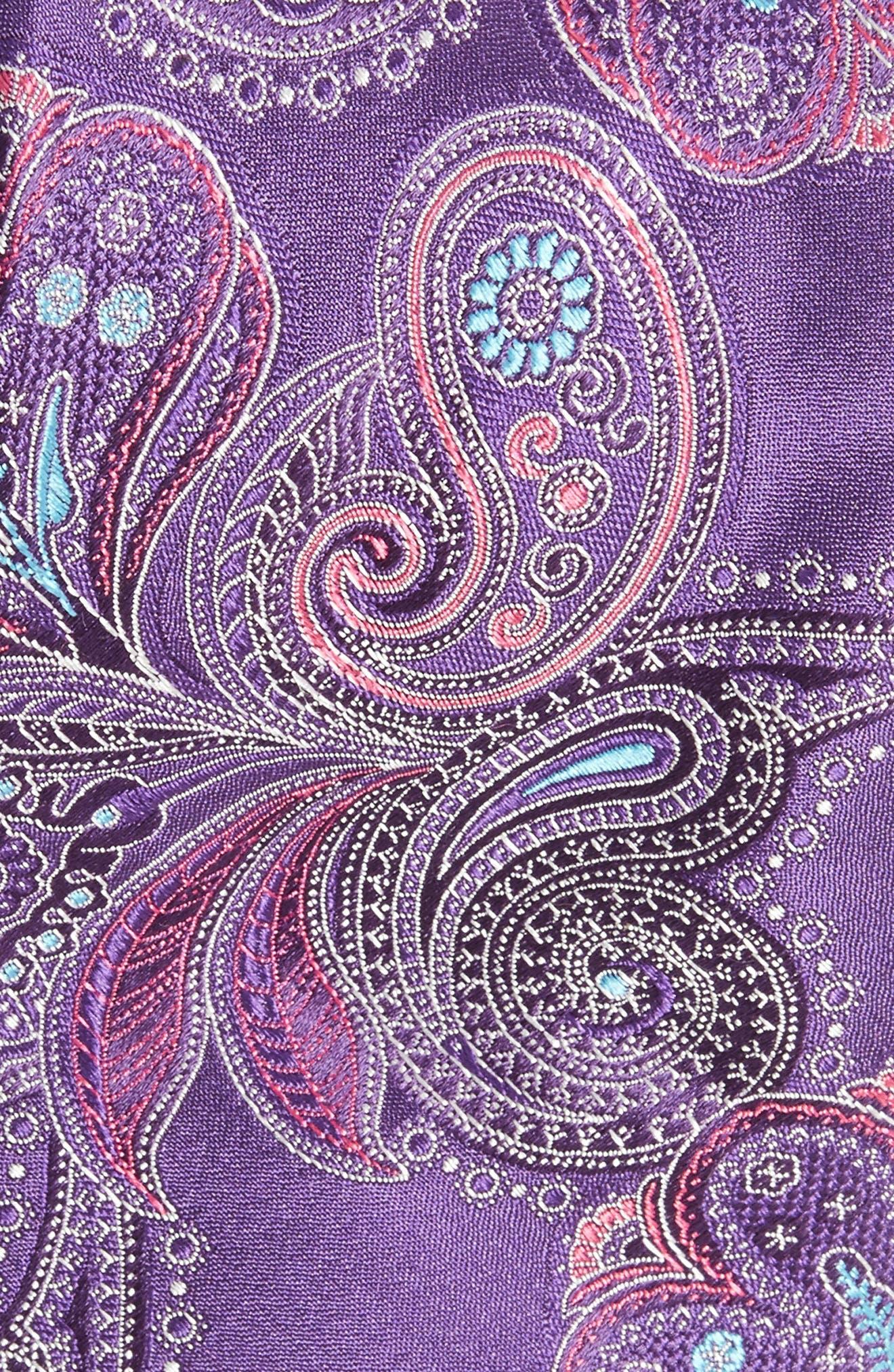Alternate Image 2  - Ted Baker London Paisley Silk Tie