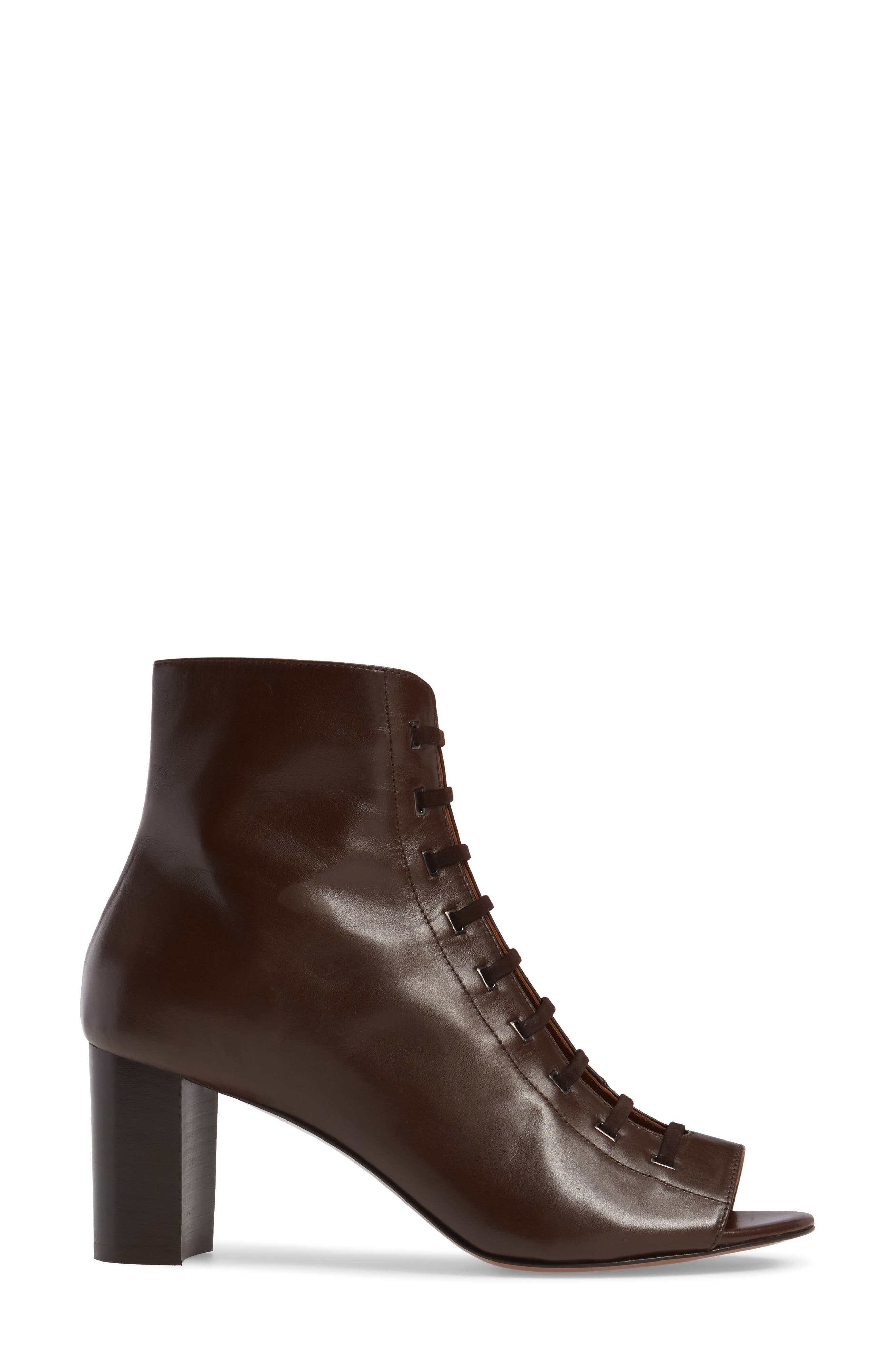 Alternate Image 3  - Aquatalia Stefania Weatherproof Open Toe Bootie (Women)