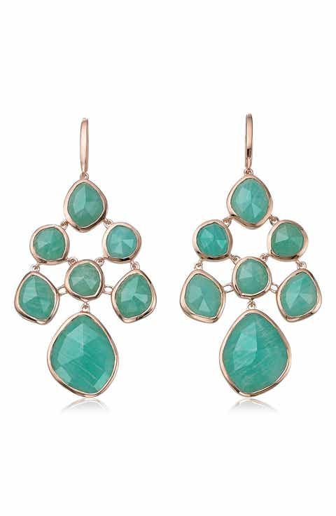 Womens green chandelier earrings nordstrom monica vinader siren chandelier earrings mozeypictures Choice Image