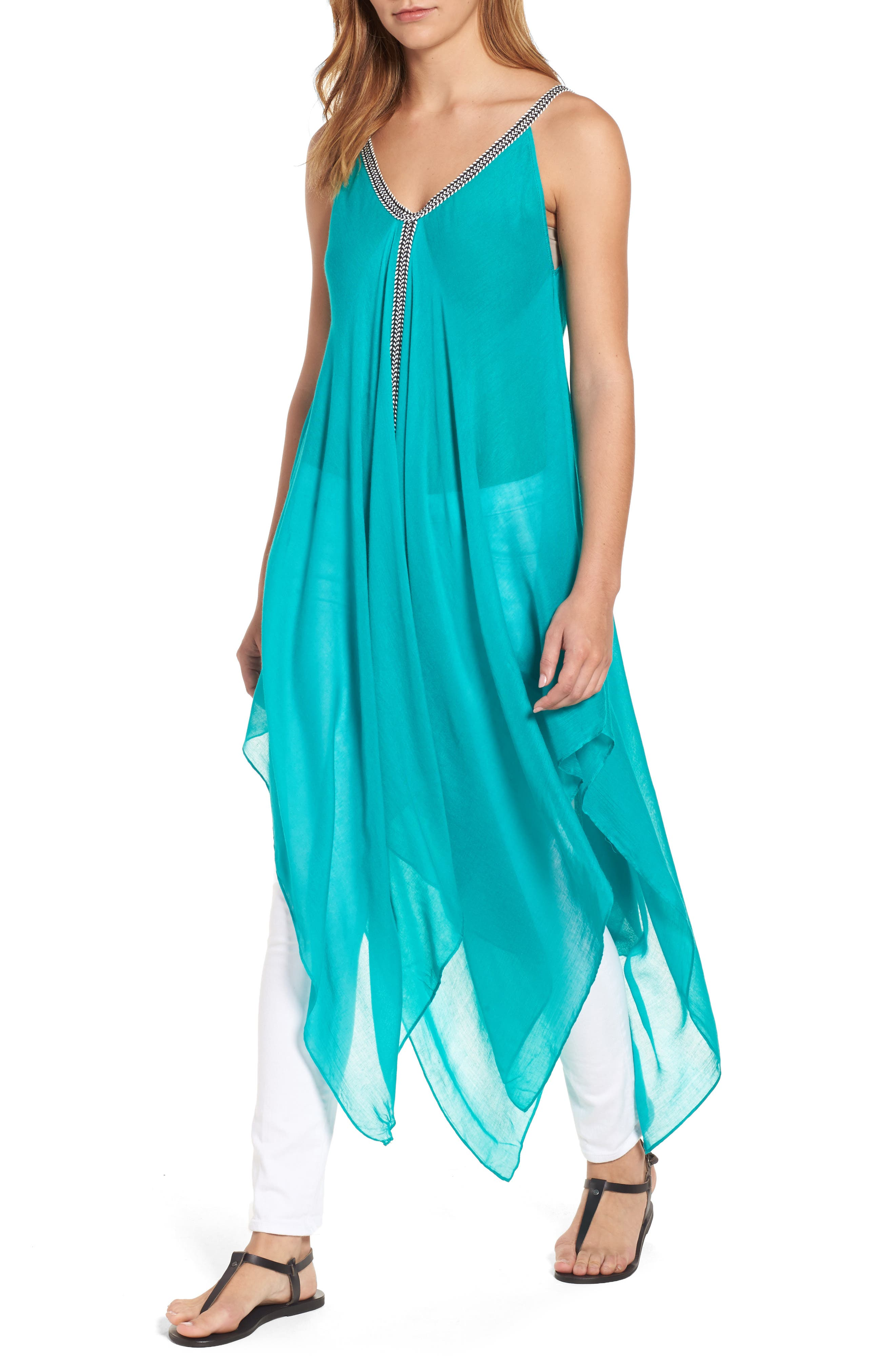 Alternate Image 1 Selected - Michael Stars Seychelles Maxi Cover-Up