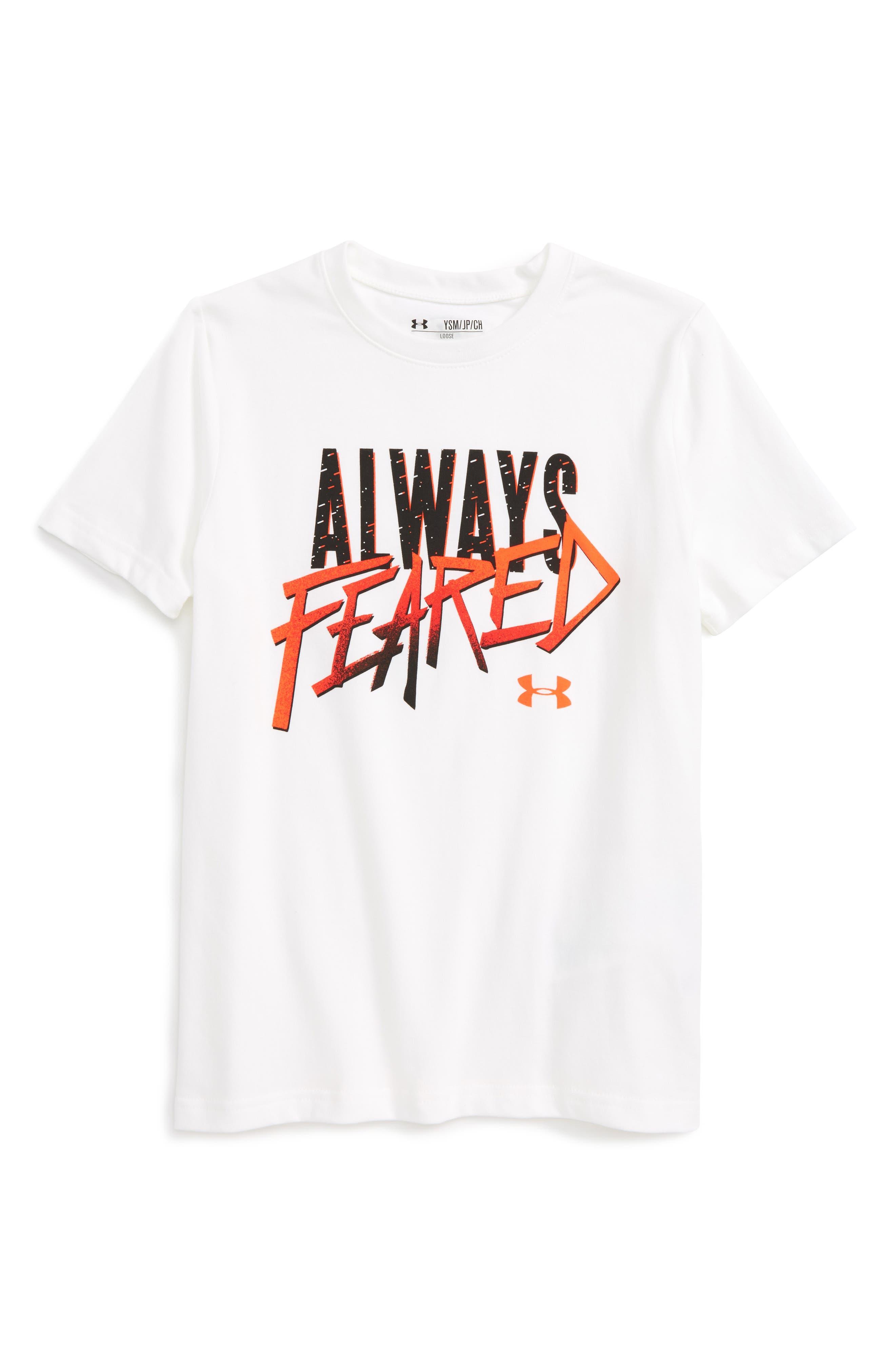Under Armour Always Feared Graphic T-Shirt (Little Boys & Big Boys)