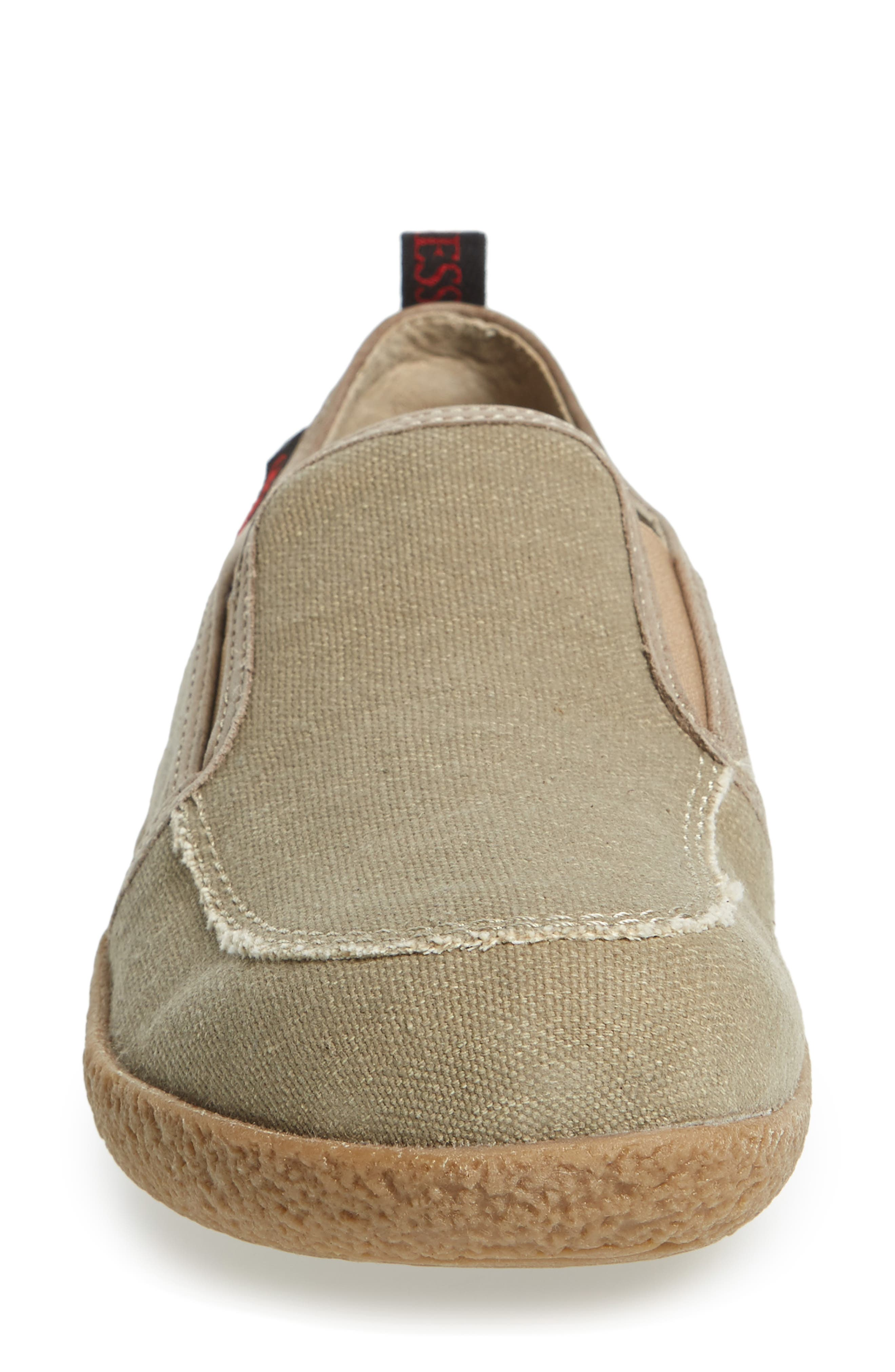 Reith Loafer,                             Alternate thumbnail 4, color,                             Sesame Leather