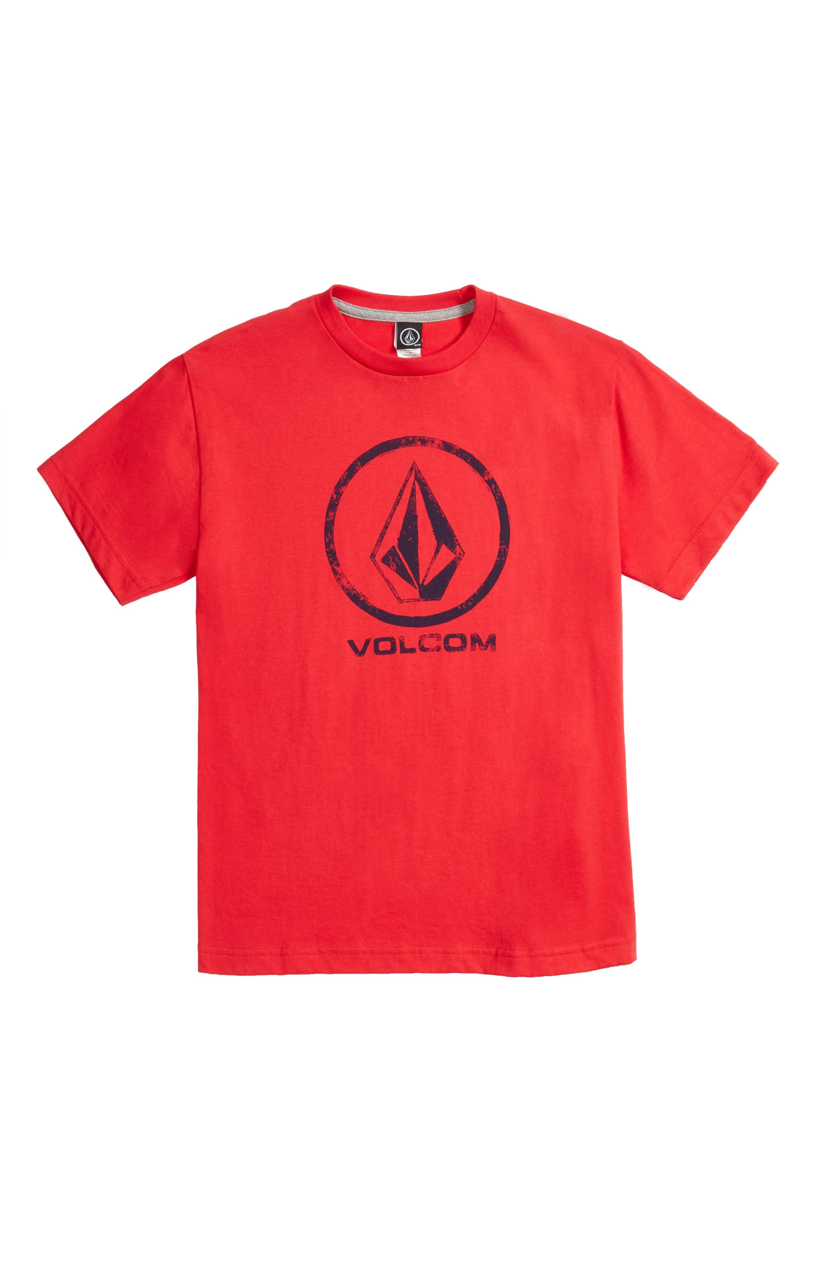 Volcom Lino Stone Graphic T-Shirt (Big Boys)