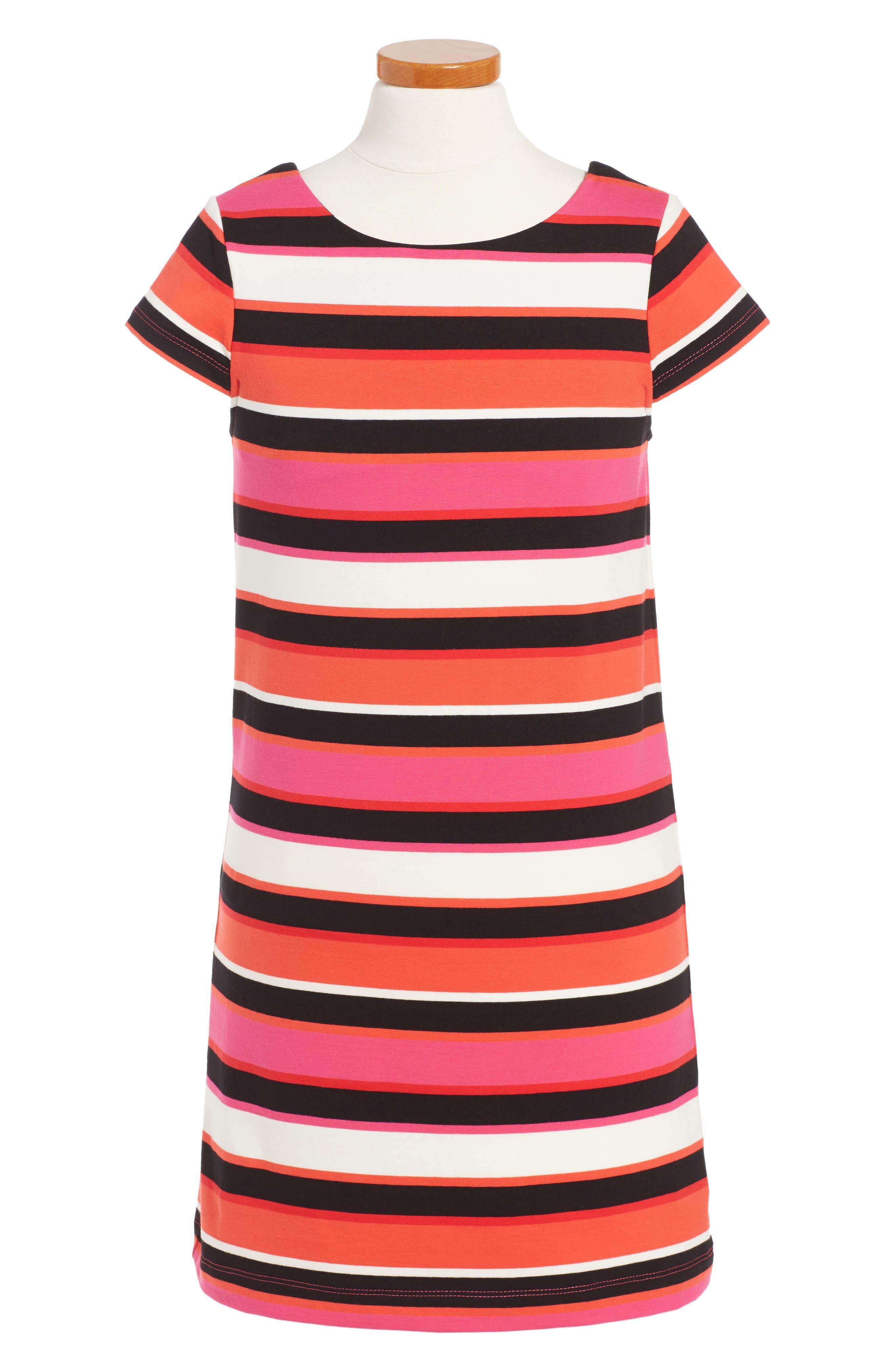 kate spade new york bow back shift dress (Toddler Girls & Little Girls)