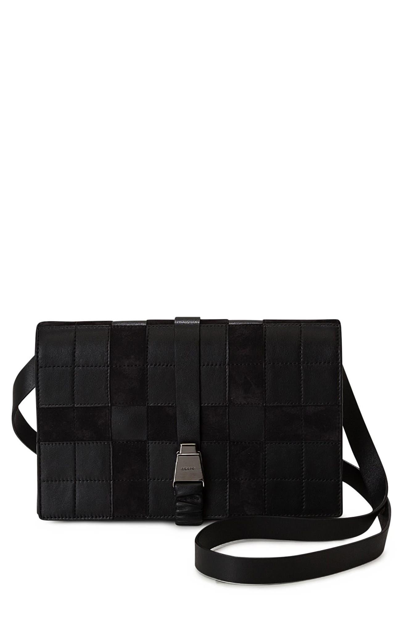 Akris Alice Leather Crossbody Bag