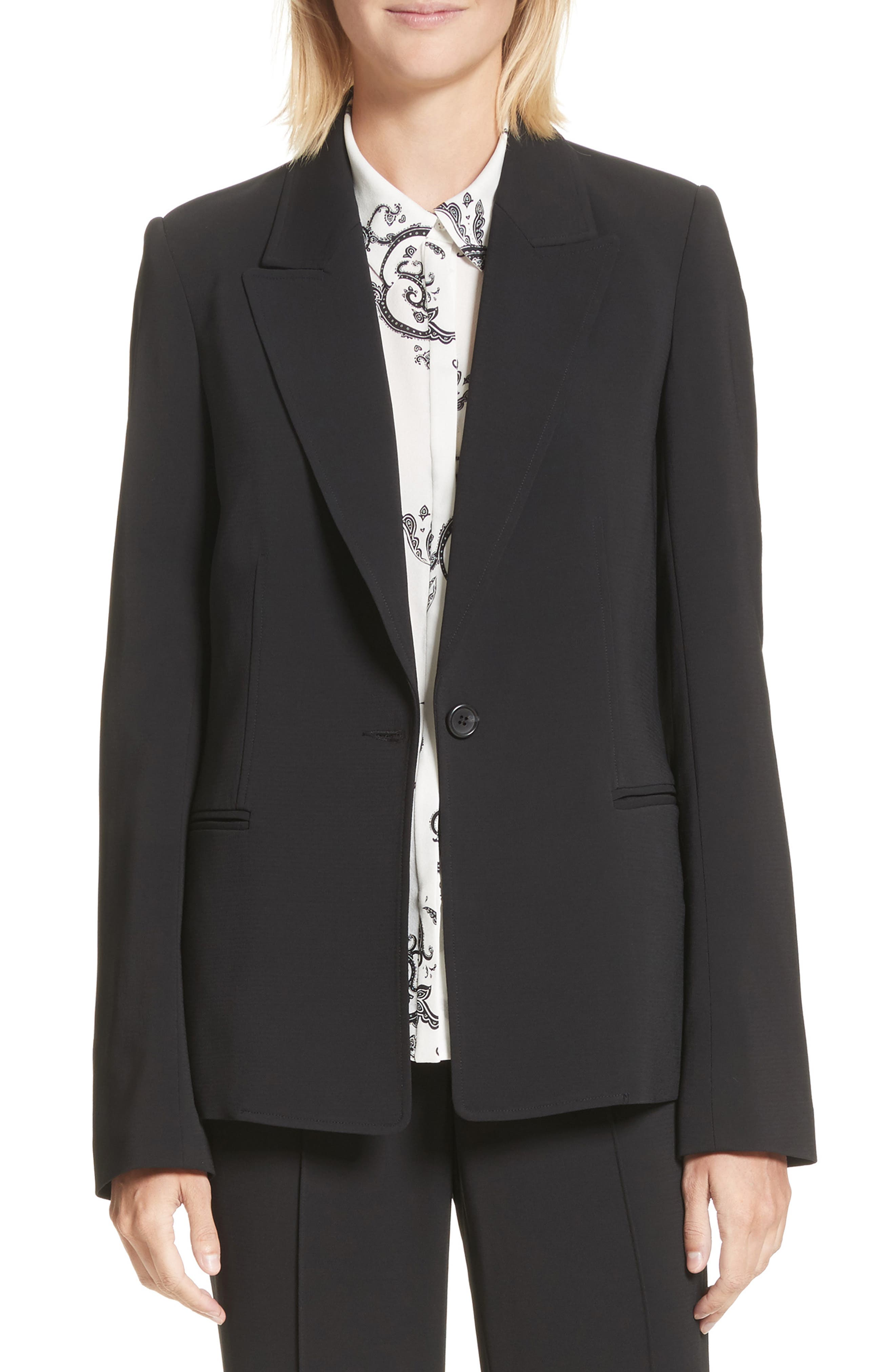 Duke Jacket,                         Main,                         color, Black