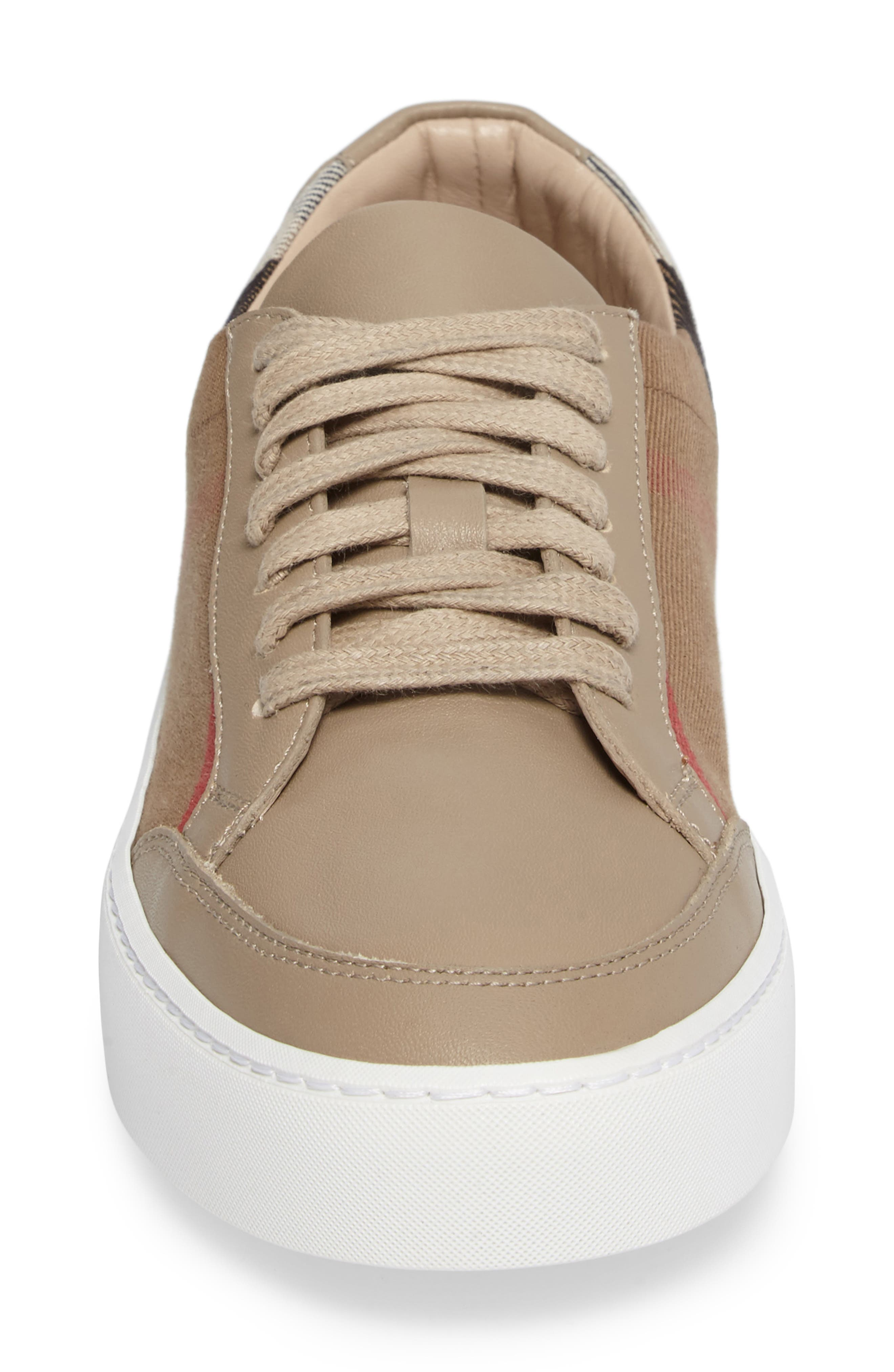 Salmond Sneaker,                             Alternate thumbnail 4, color,                             Nude