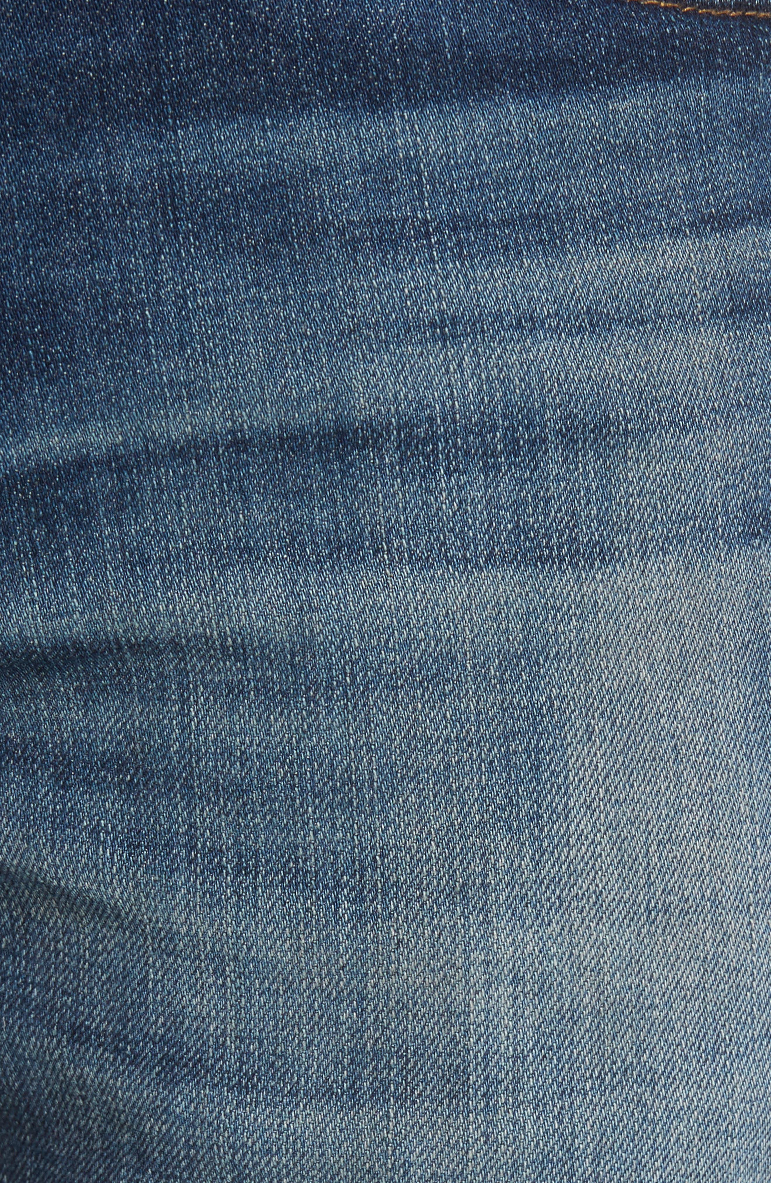 Alternate Image 5  - AG Tellis Slim Fit Jeans (10 Years Shortcut)
