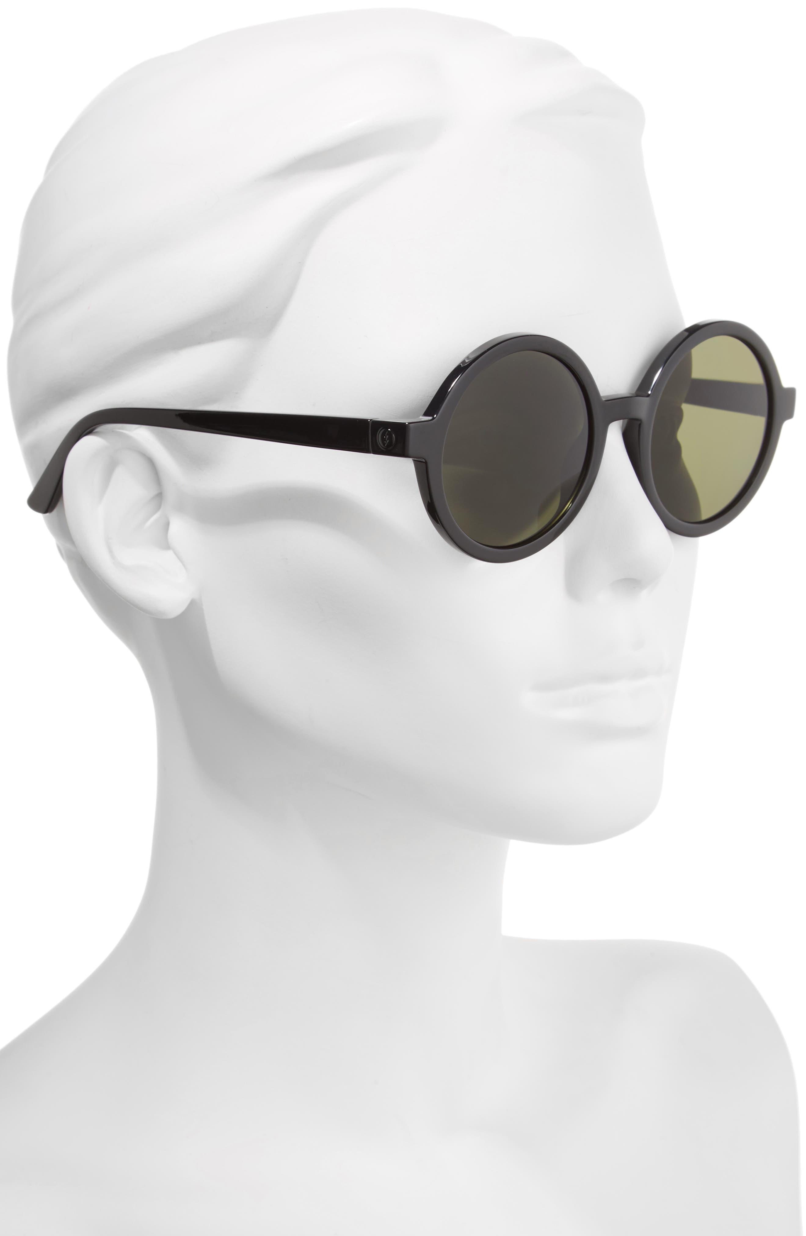 Alternate Image 2  - ELECTRIC Lunar 51mm Round Polarized Sunglasses