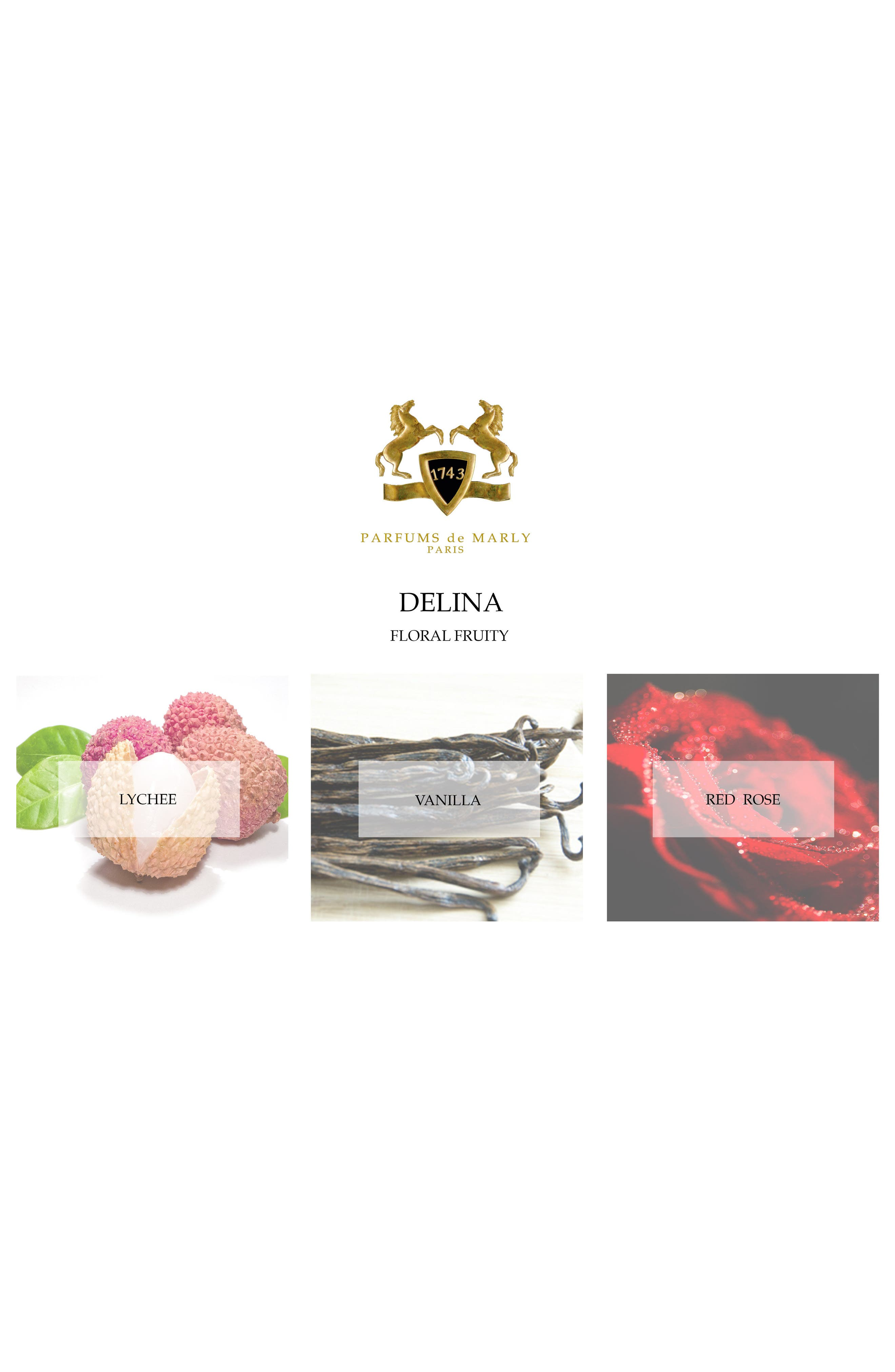 Alternate Image 2  - Parfums de Marly Delina Eau de Parfum