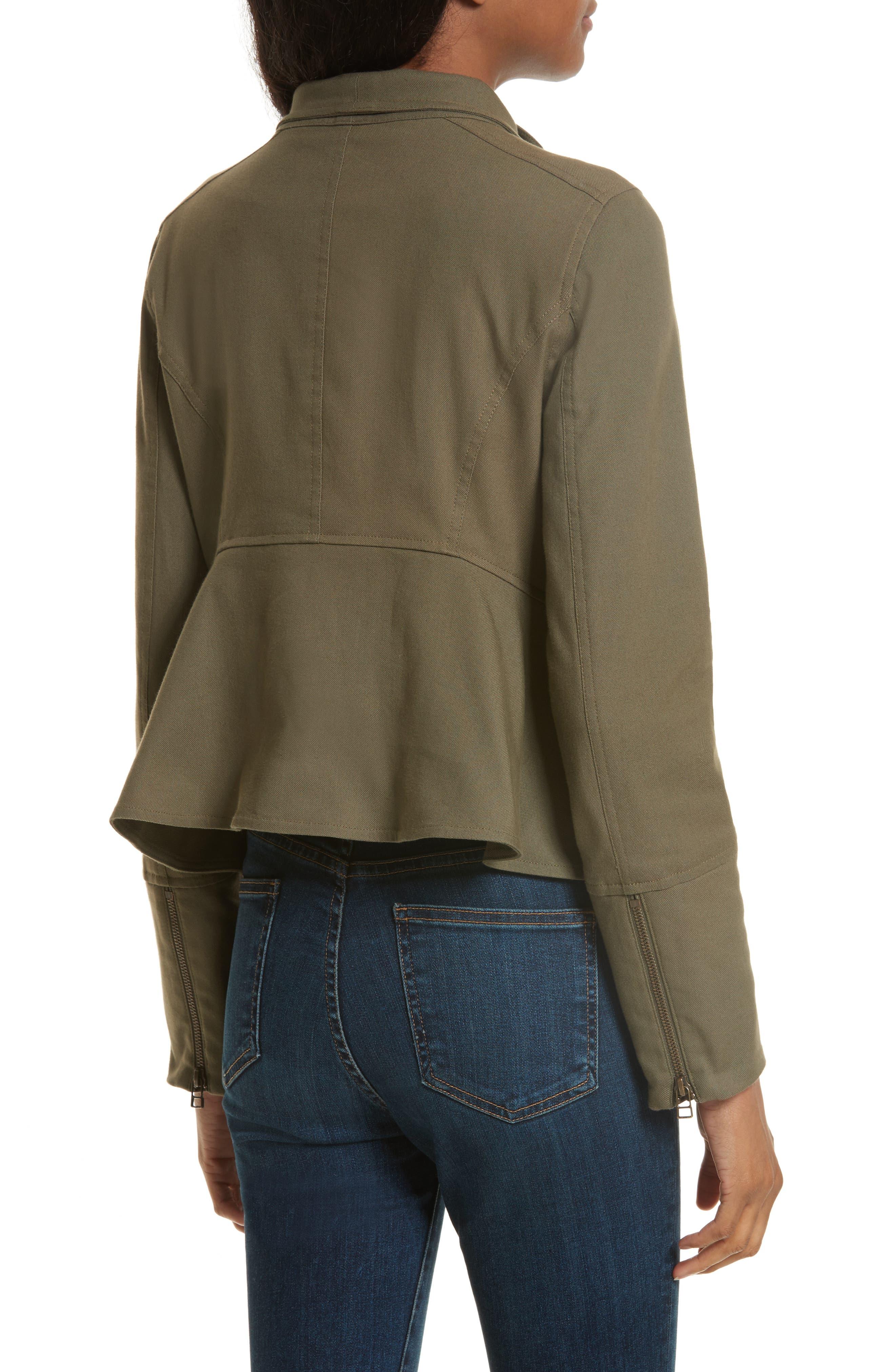 Alternate Image 2  - Veronica Beard Everglade Peplum Jacket