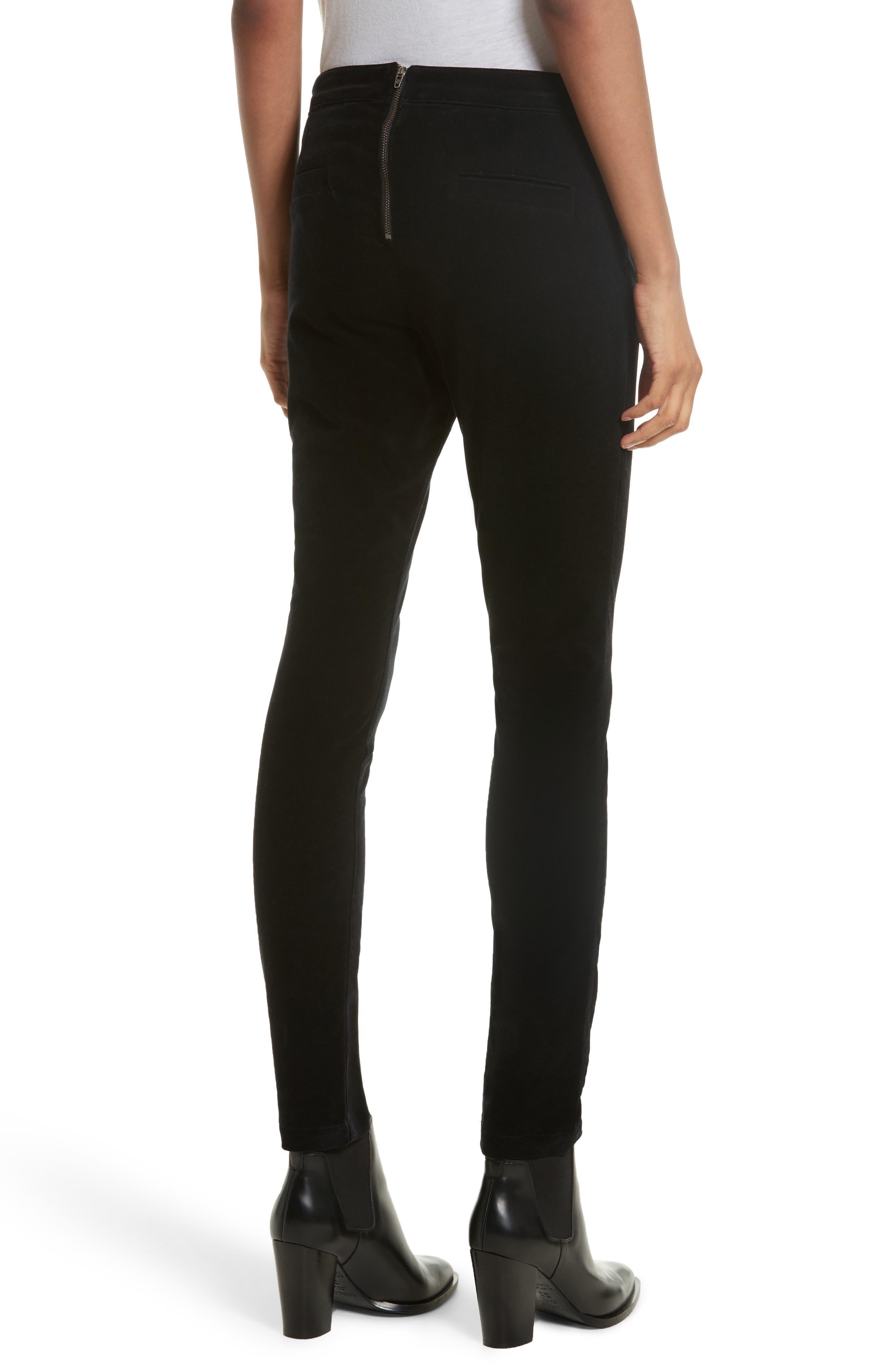 Alternate Image 3  - Veronica Beard Jane Velvet Jeans