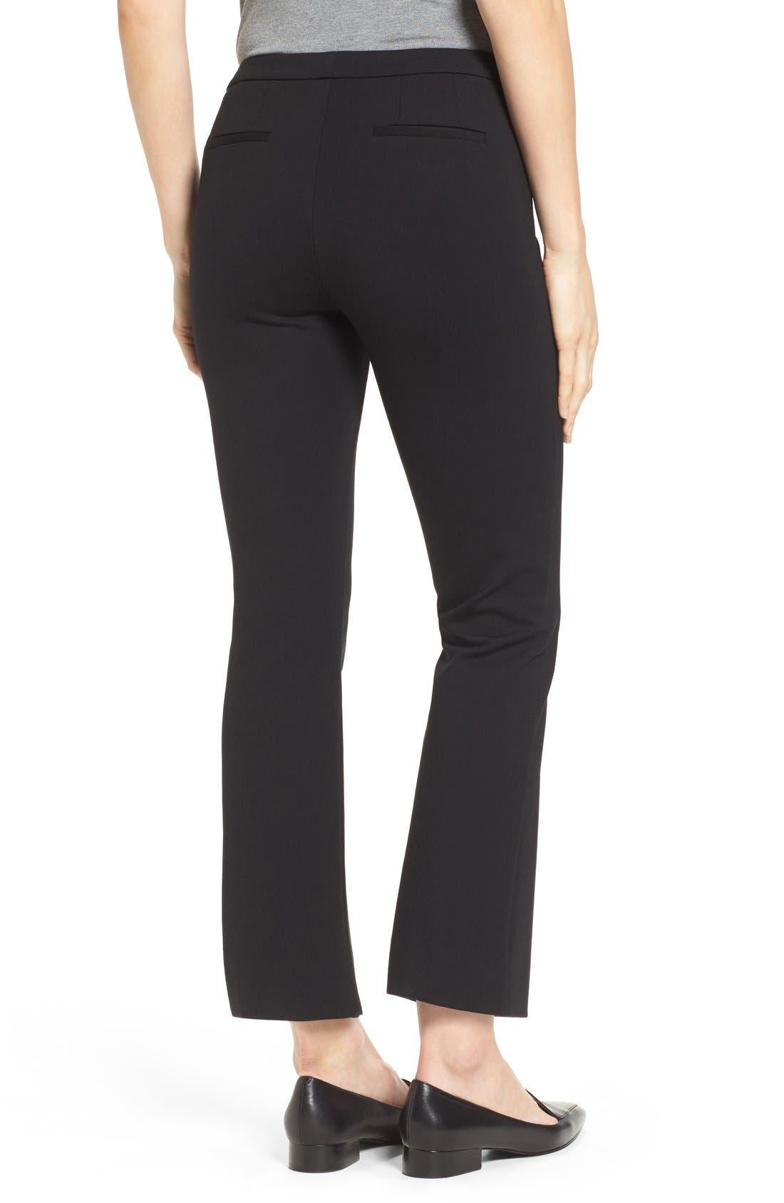 Alternate Image 4  - Halogen® Kick Flare Knit Ankle Pants (Regular & Petite)