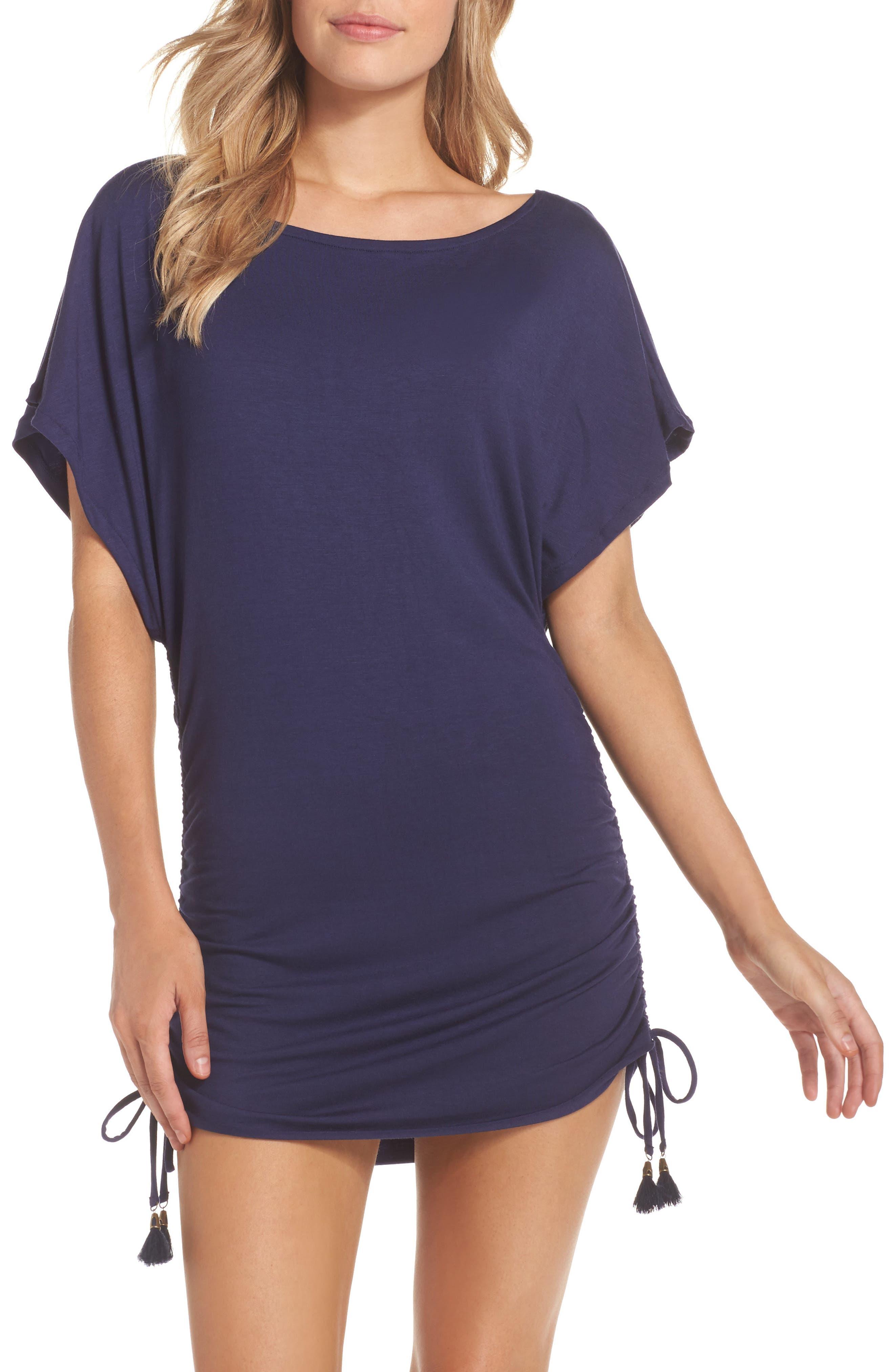 Lucky Brand Hidden Gem Cover-Up Tunic Dress