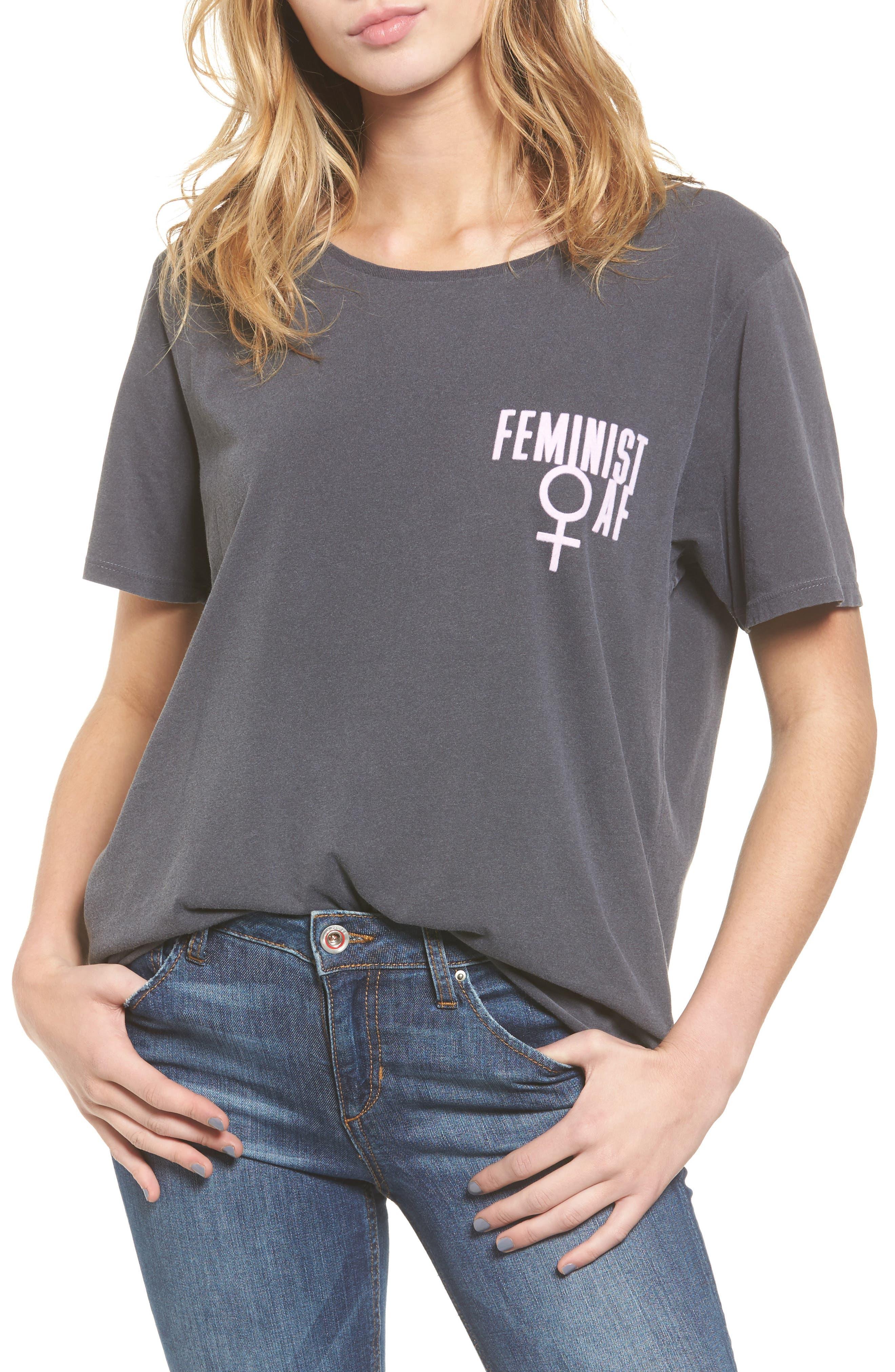 Alternate Image 1 Selected - Junk Food Feminist Tee
