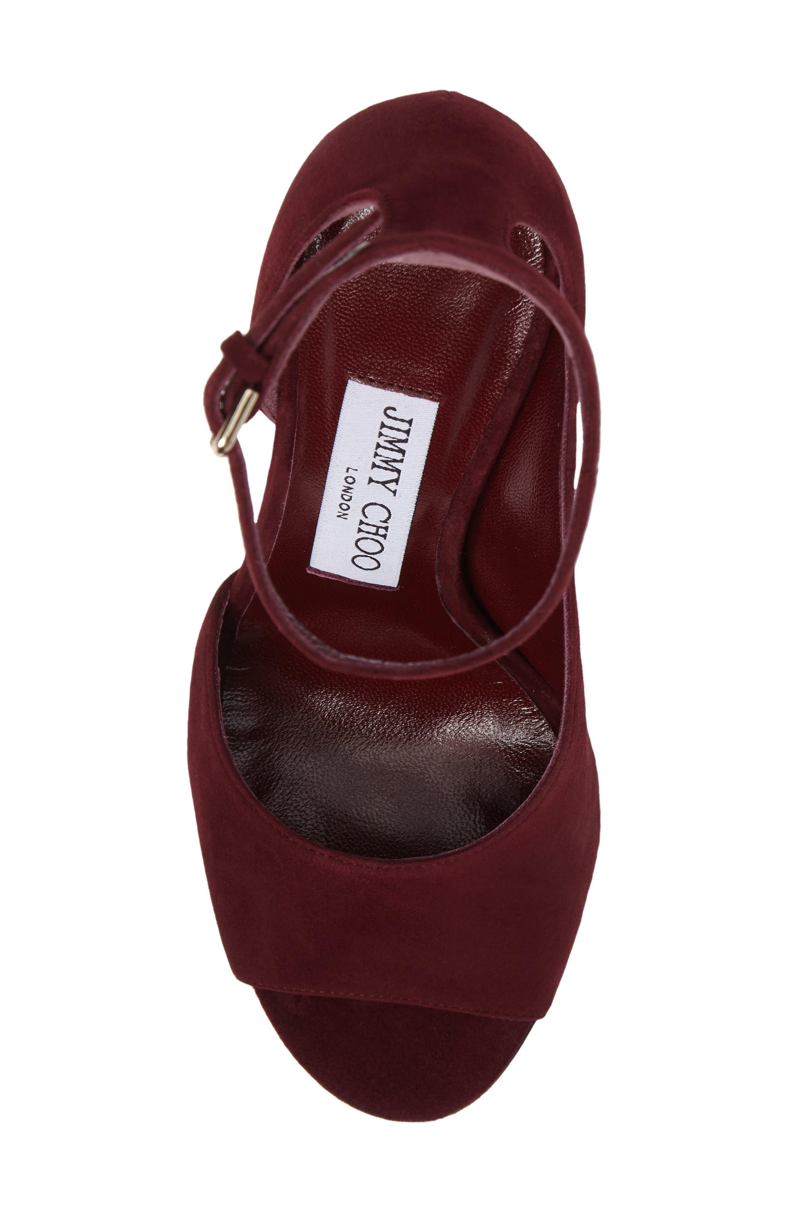 Alternate Image 5  - Jimmy Choo Theresa Ankle Strap Sandal (Women)