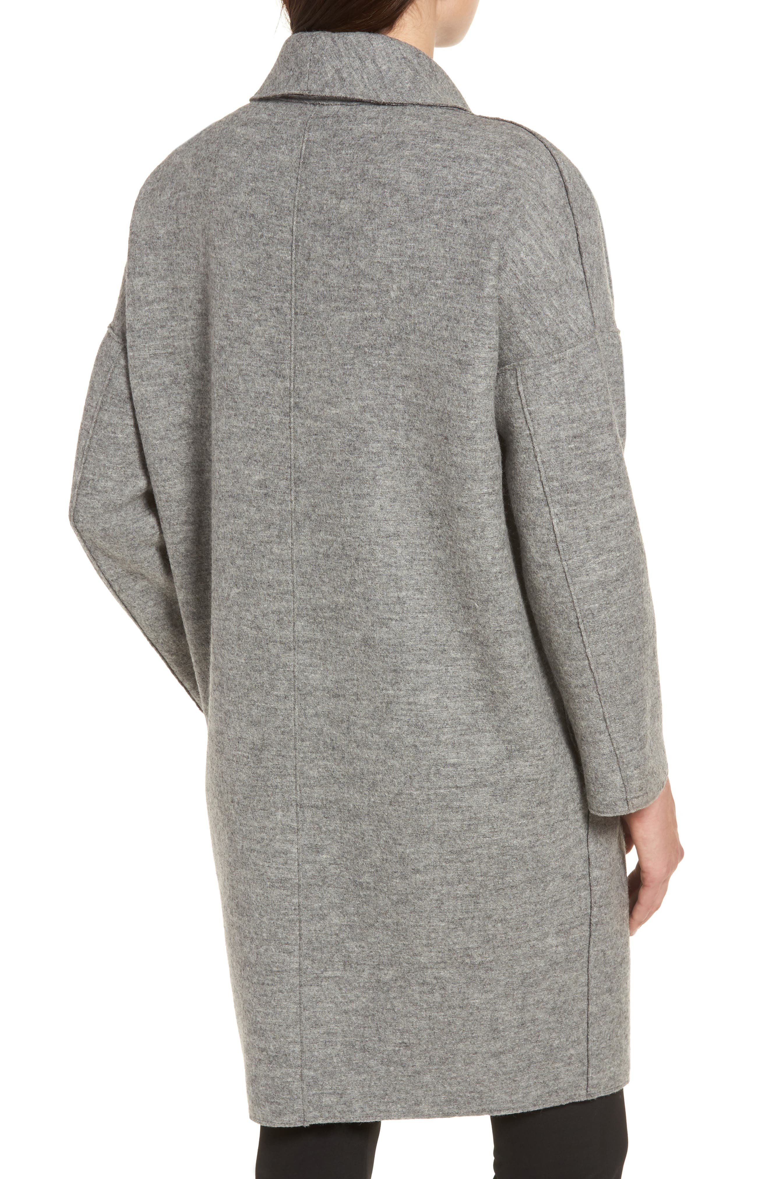 Alternate Image 2  - Sosken Emma Boiled Wool Coat