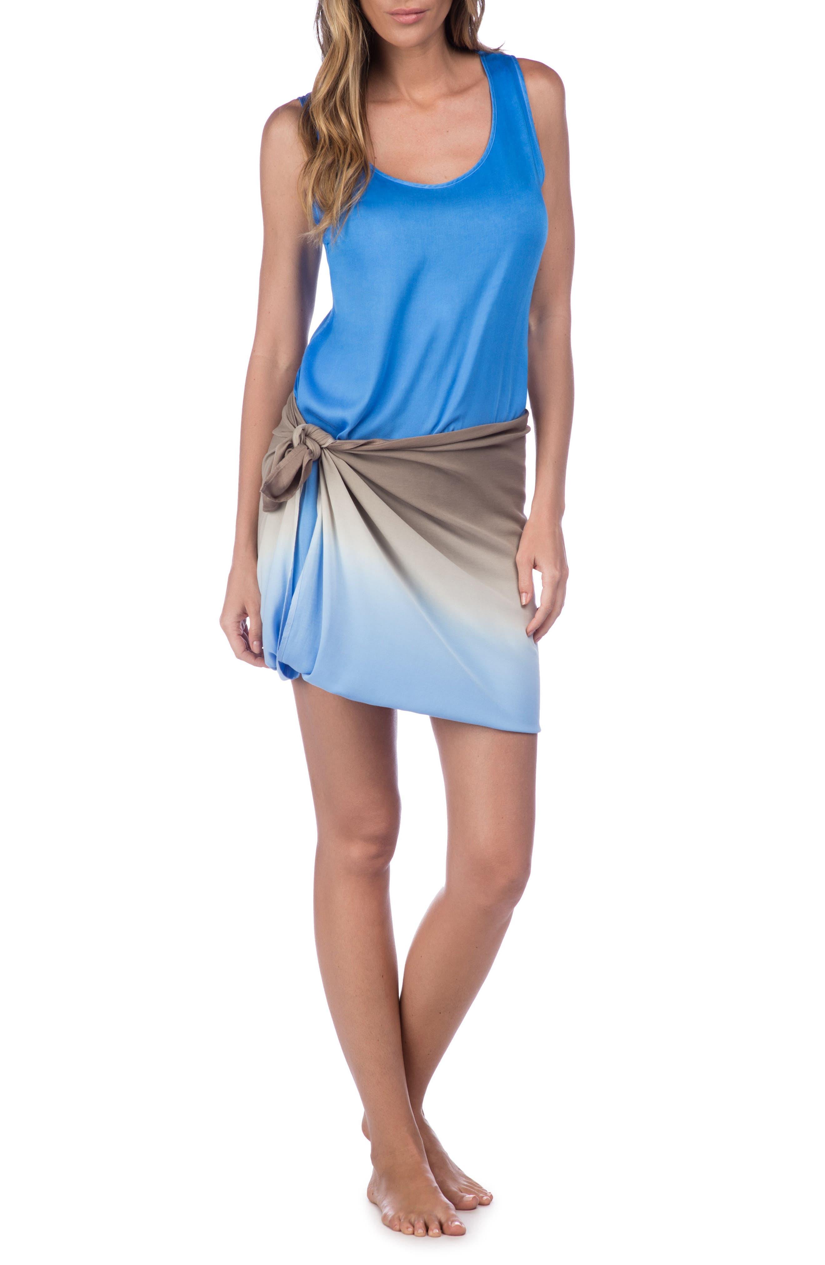 Alternate Image 4  - La Blanca Convertible Cover-Up Maxi Dress
