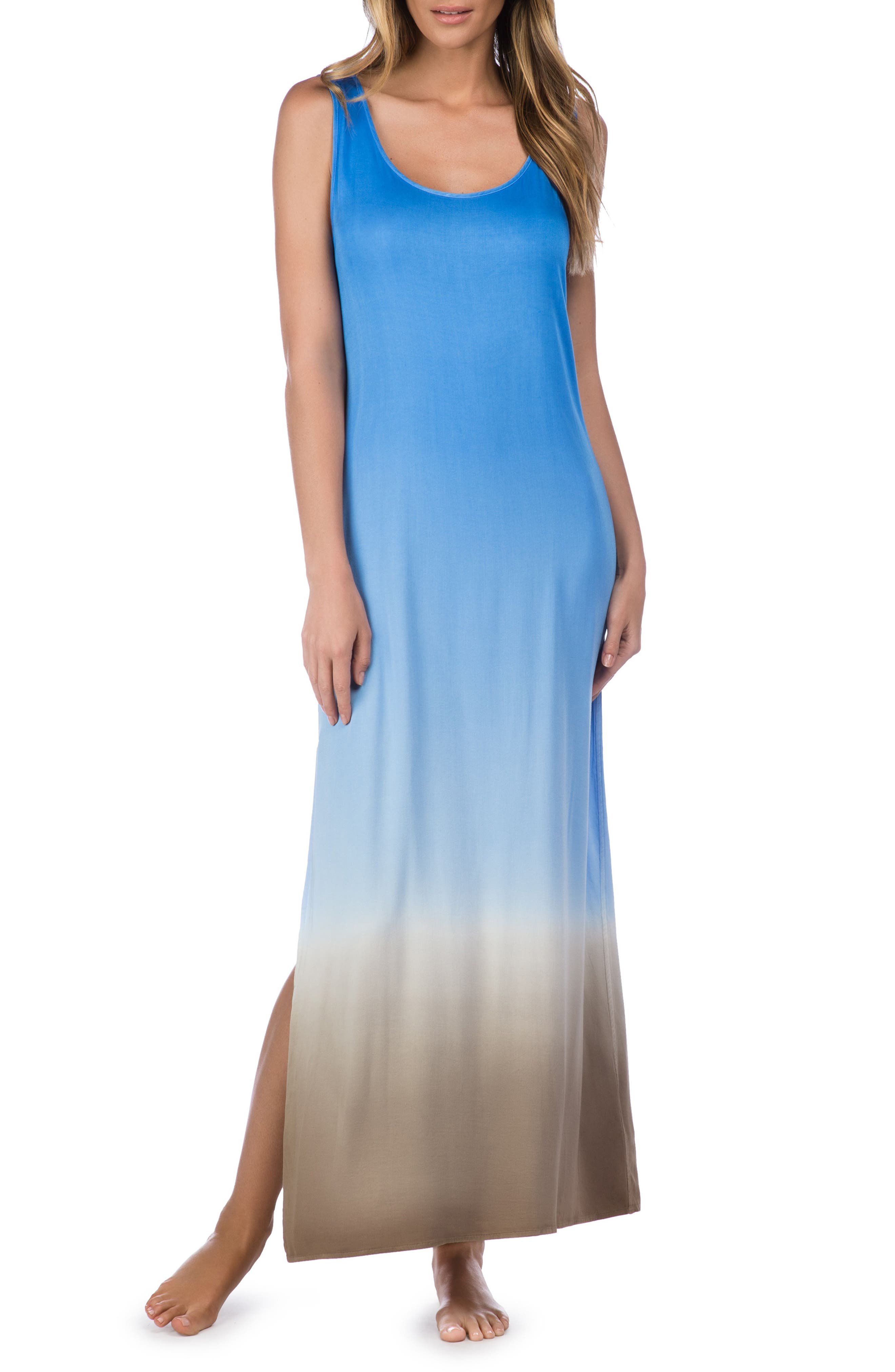 Alternate Image 1 Selected - La Blanca Convertible Cover-Up Maxi Dress