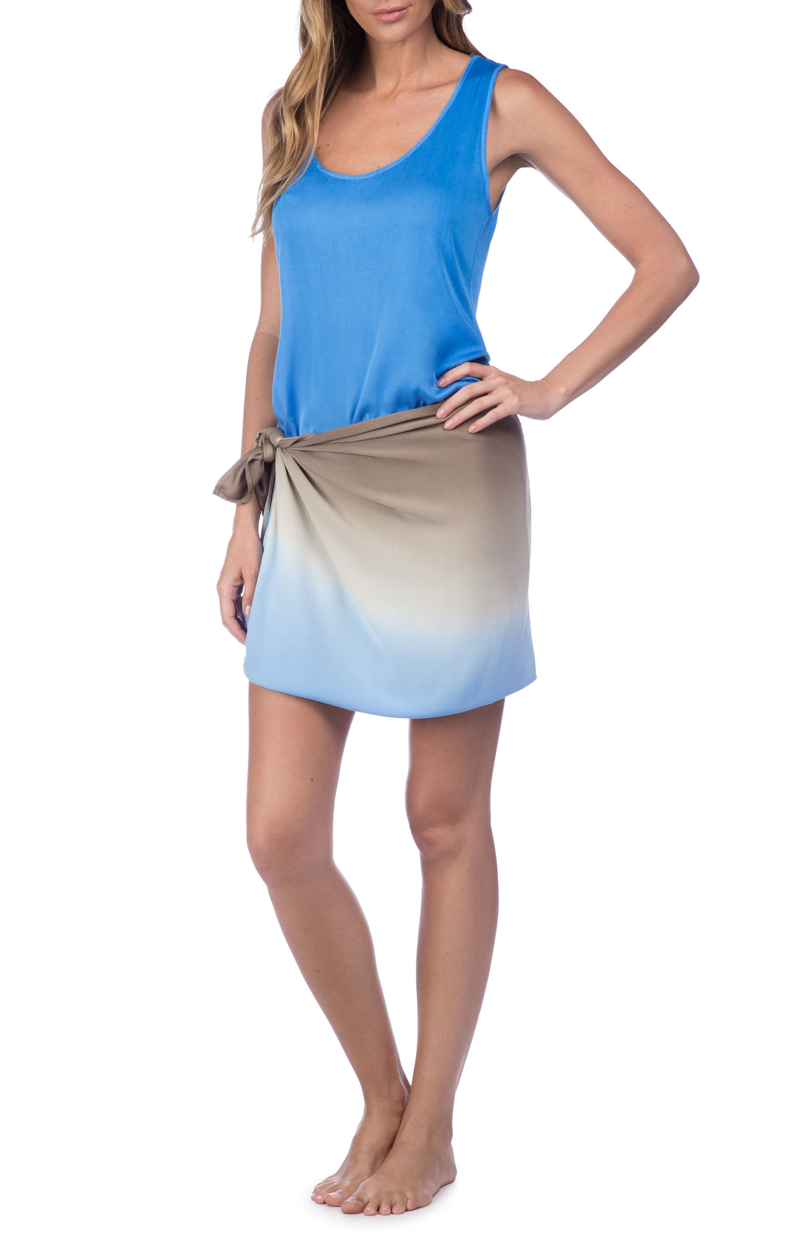 Alternate Image 3  - La Blanca Convertible Cover-Up Maxi Dress
