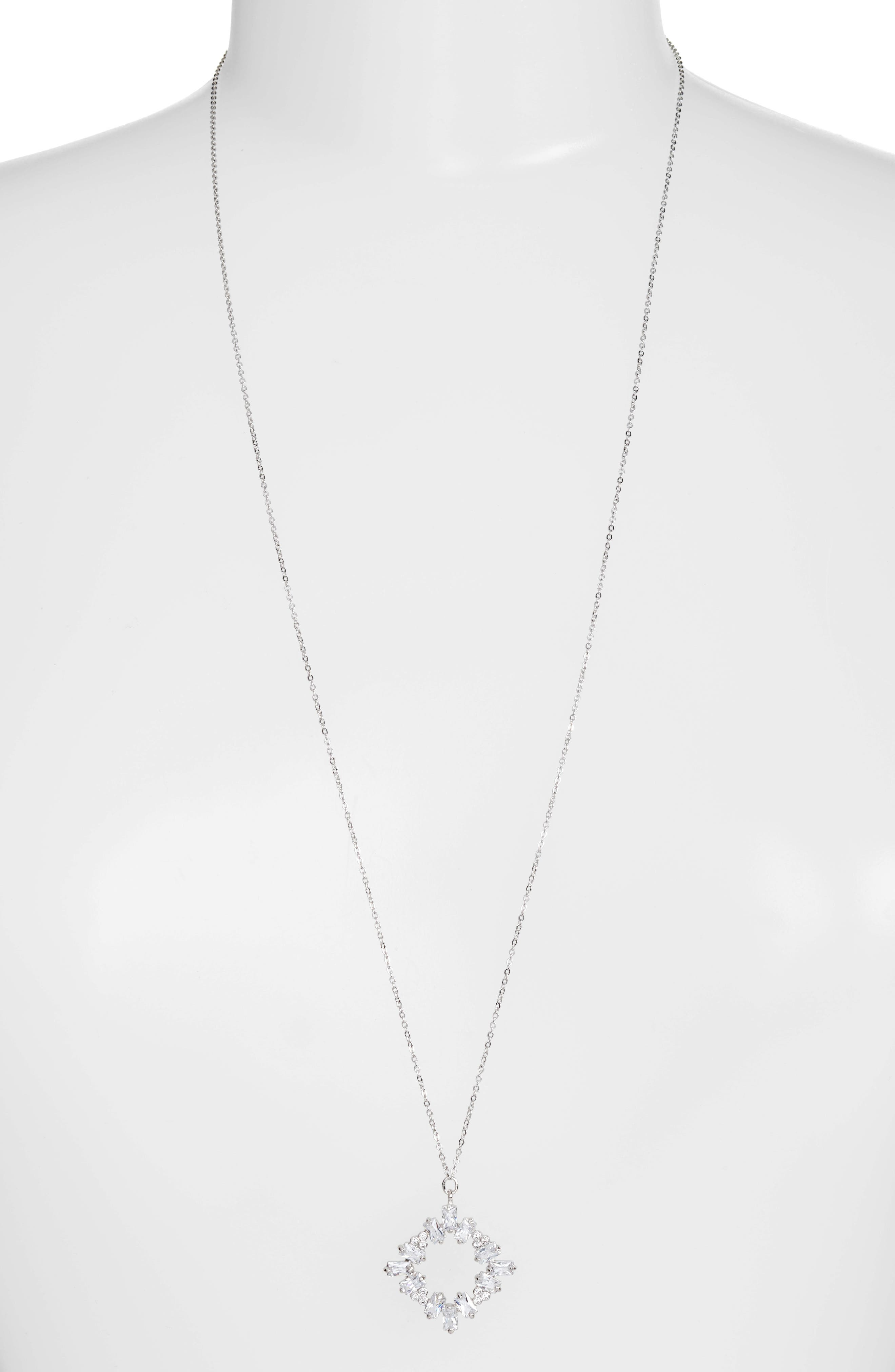 CZ by Kenneth Jay Lane Pendant Necklace