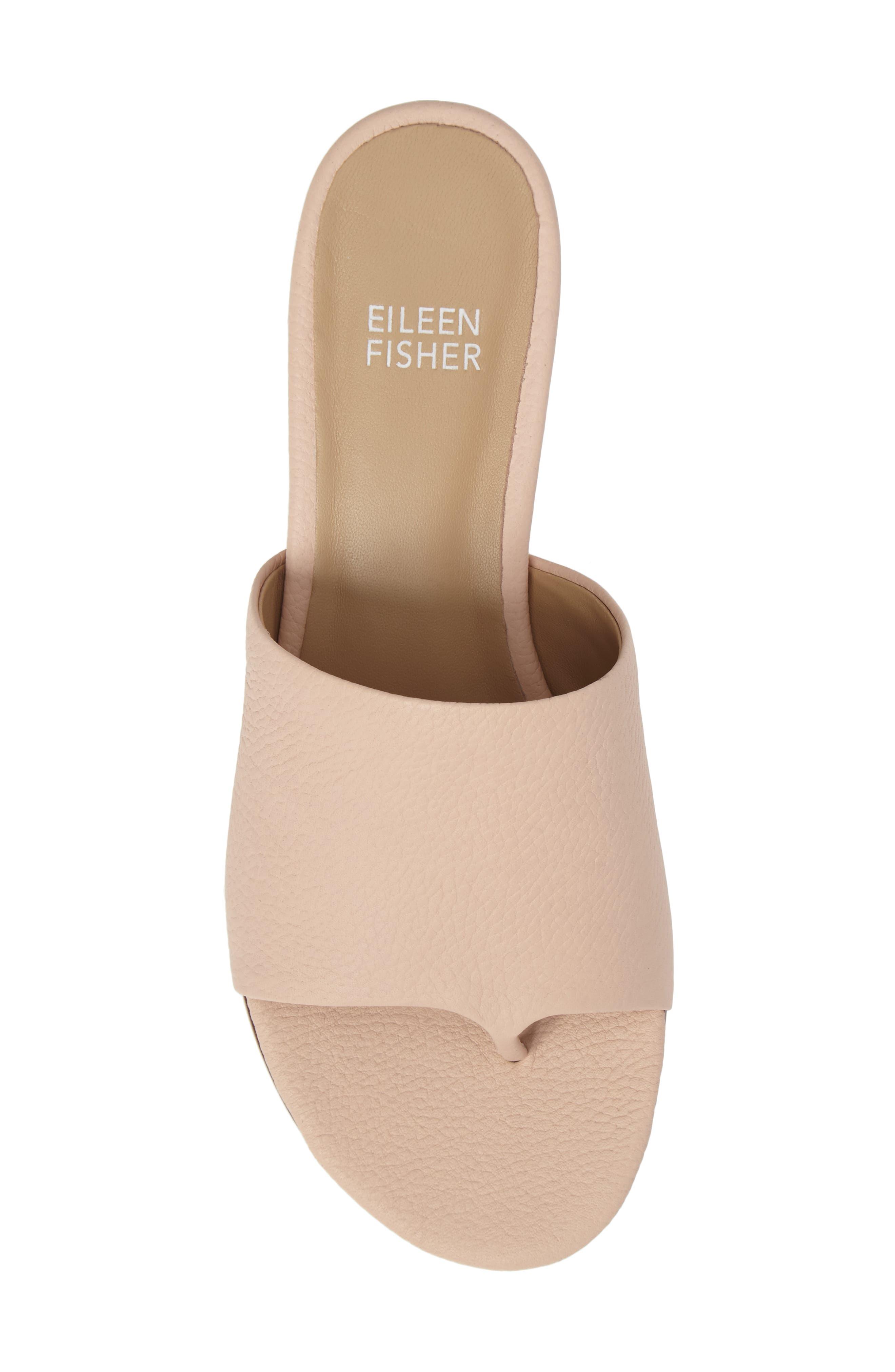 Alternate Image 5  - Eileen Fisher Beal Slide Sandal (Women)