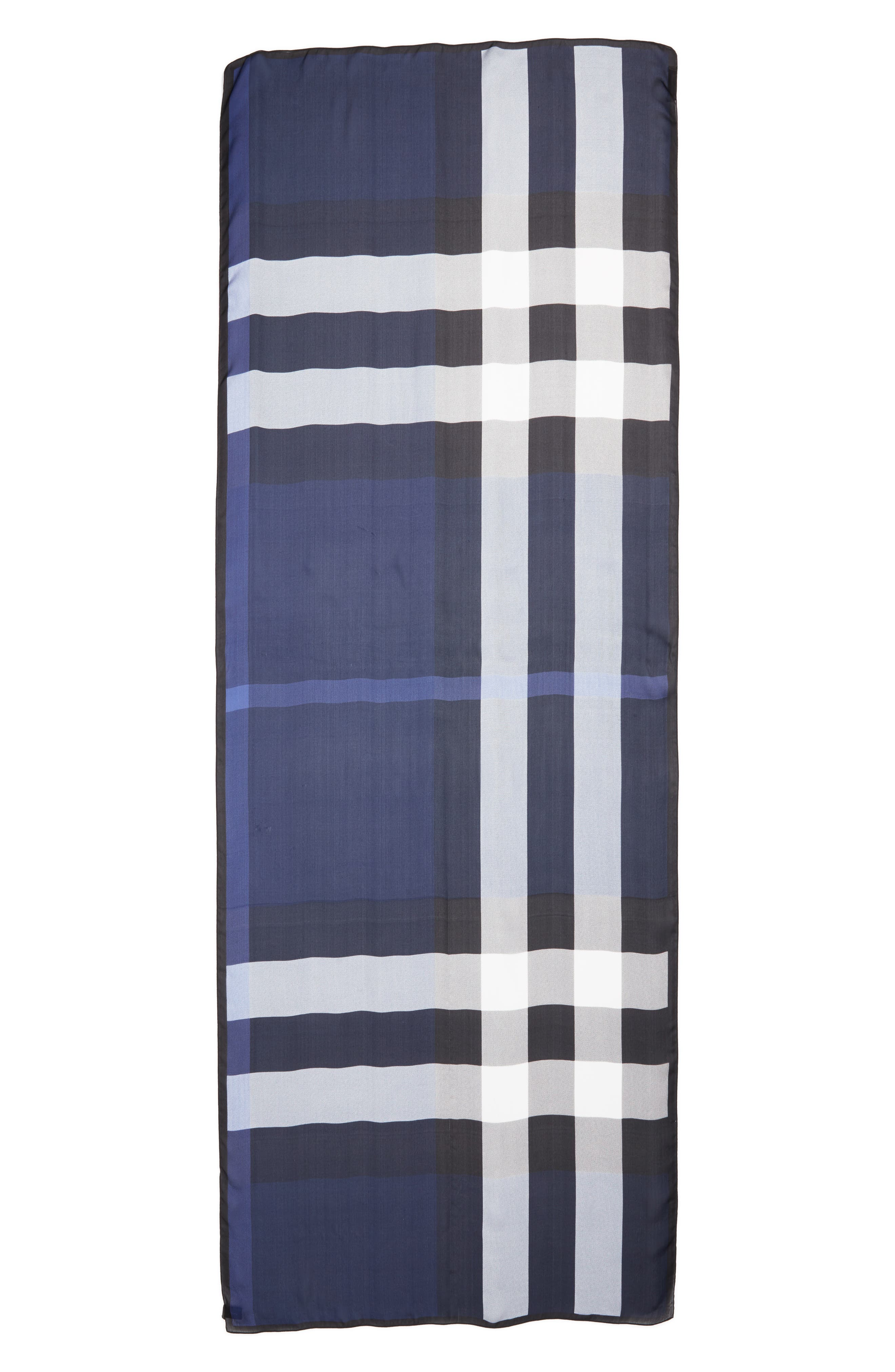 Alternate Image 1 Selected - Burberry Mega Check Silk Scarf