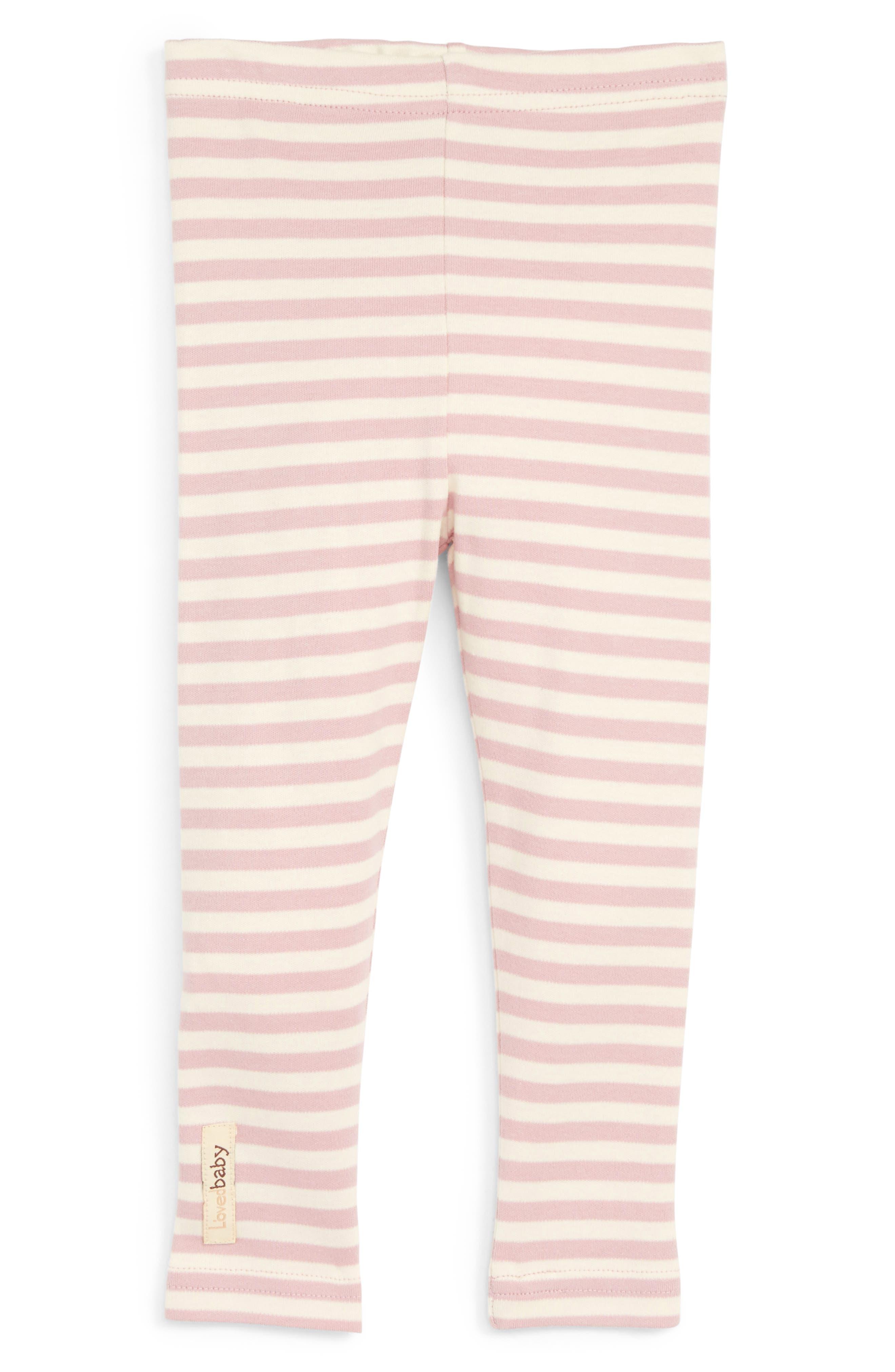 Main Image - L'ovedbaby Organic Cotton Leggings (Baby)