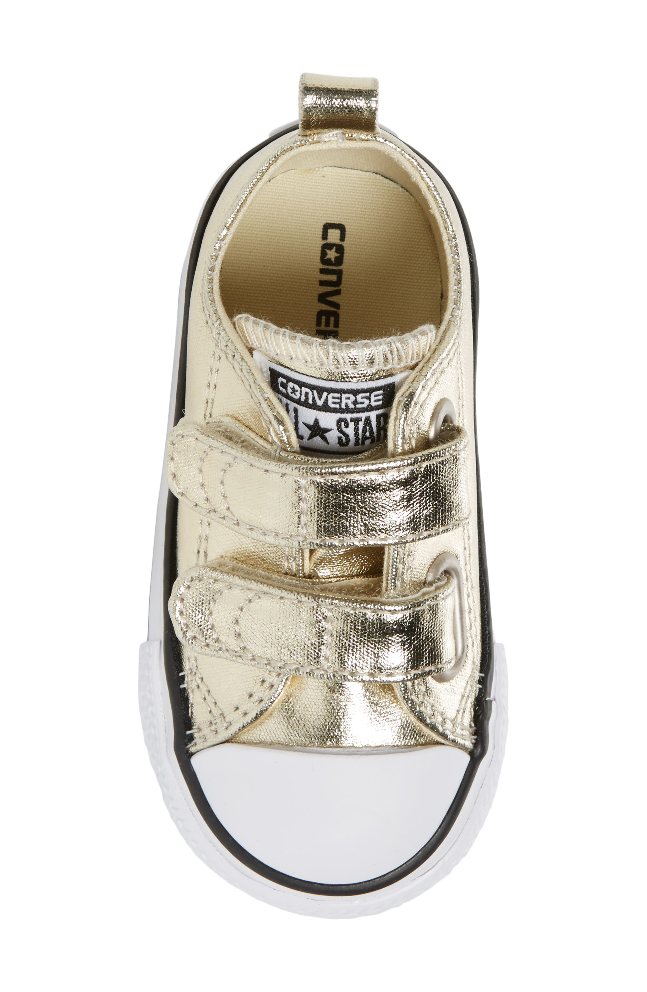 Alternate Image 5  - Converse Chuck Taylor® All Star® 2V Metallic Low-Top Sneaker (Baby, Walker & Toddler)