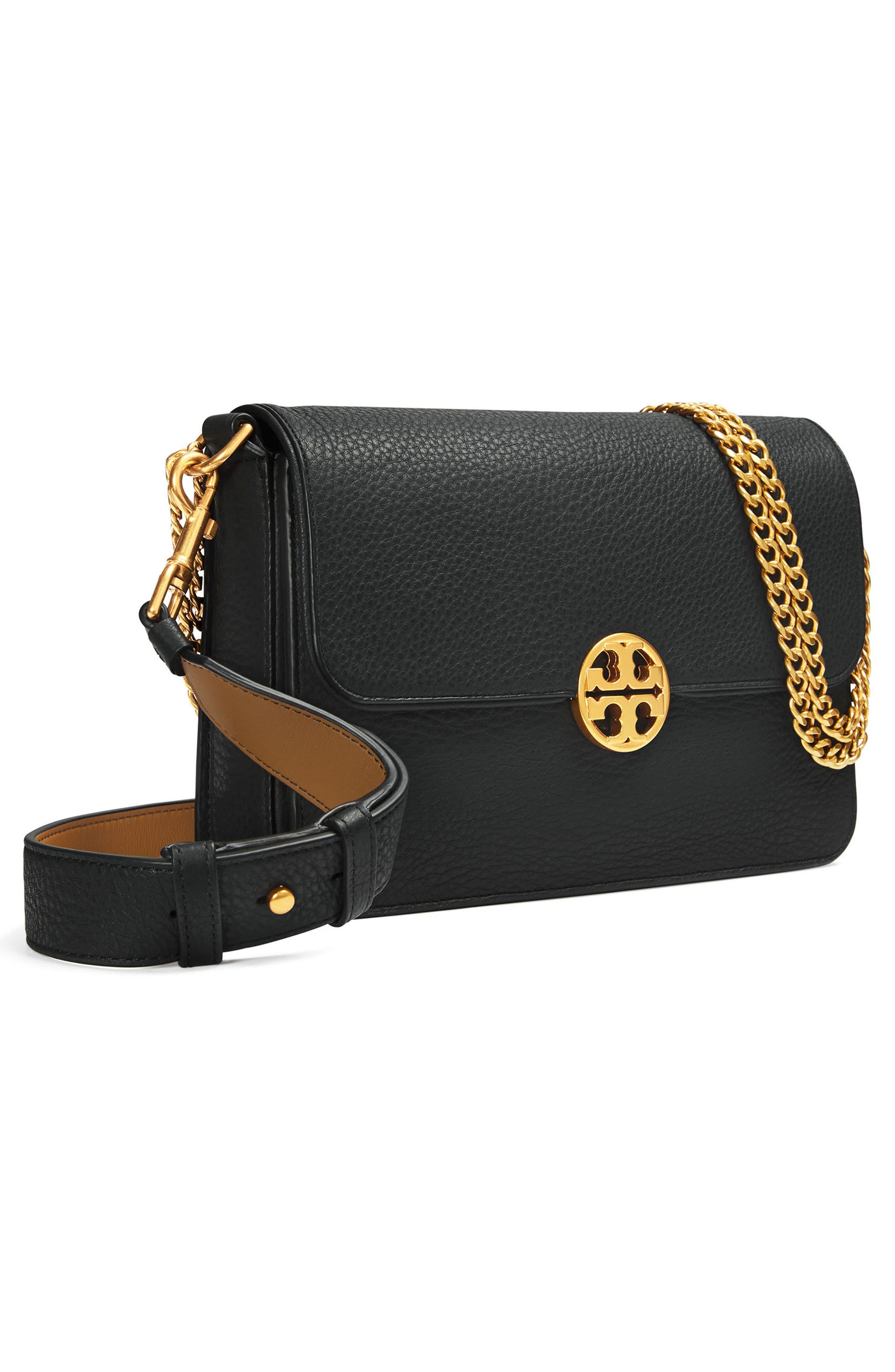 Alternate Image 3  - Tory Burch Chelsea Leather Shoulder Bag