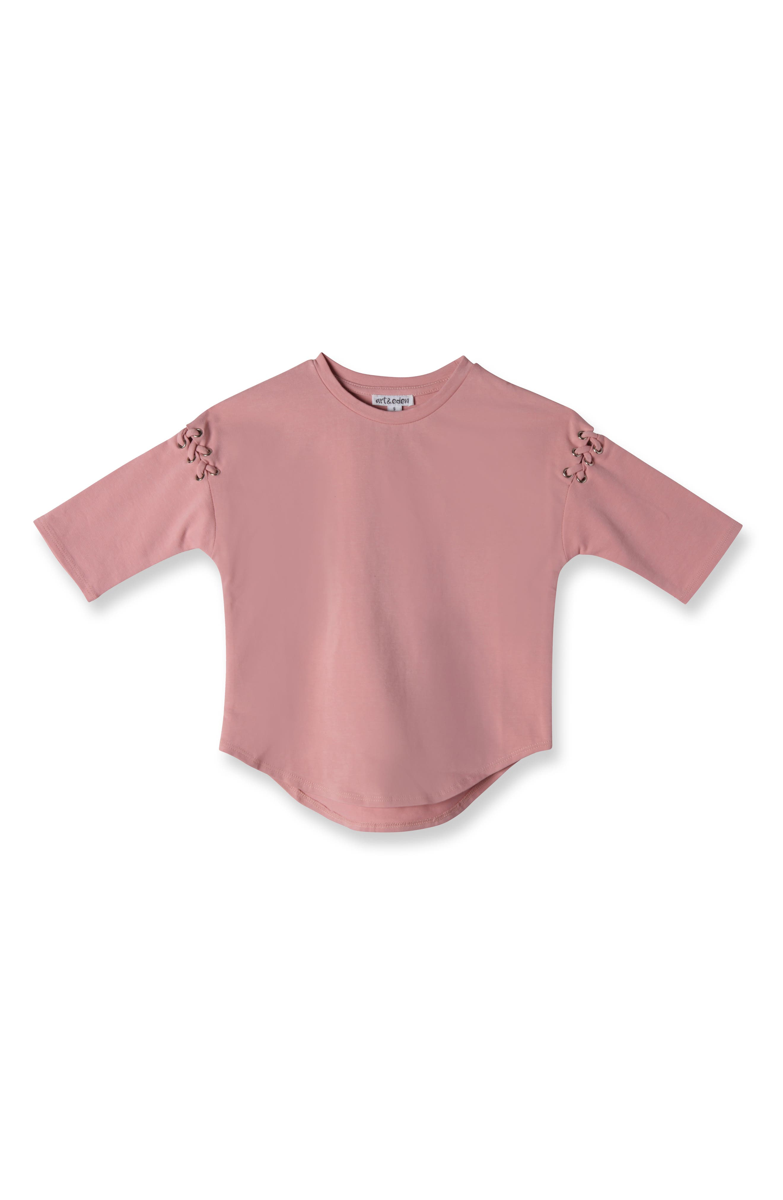 Zoey Tee,                         Main,                         color, Rose