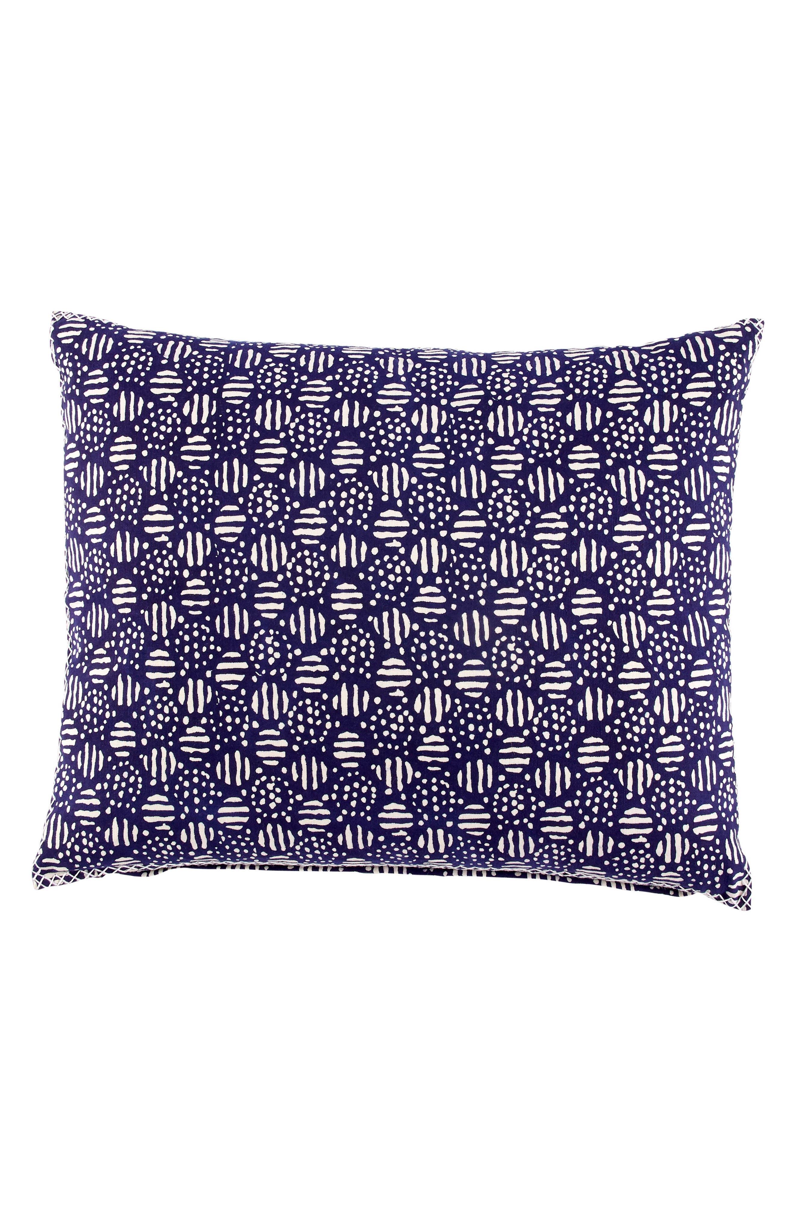 Kimikosa Bolster Accent Pillow,                         Main,                         color, Indigo
