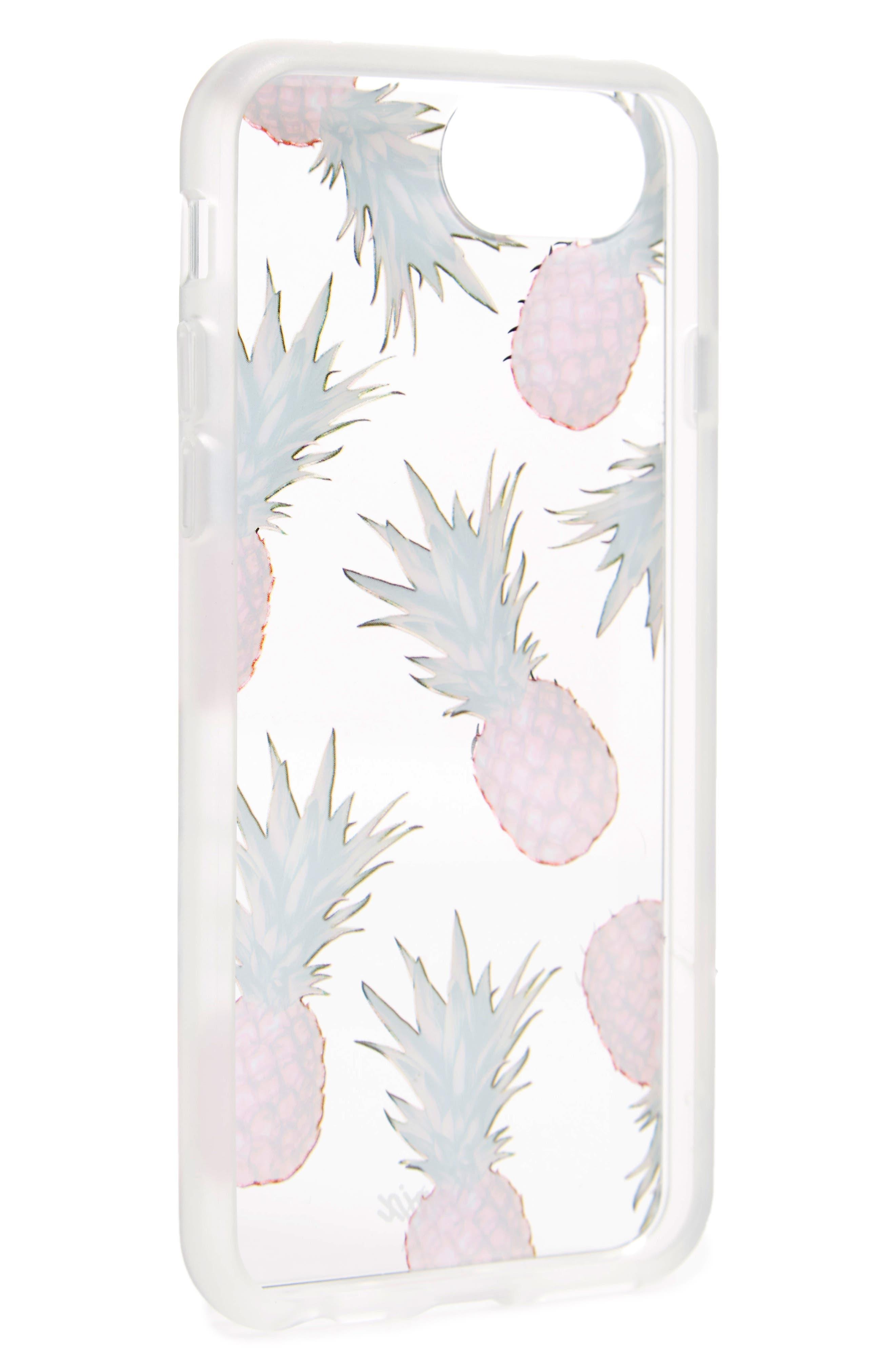 Pina Colada iPhone 6/6s/7/8 & 6/6s/7/8 Plus Case,                             Alternate thumbnail 3, color,                             Multi