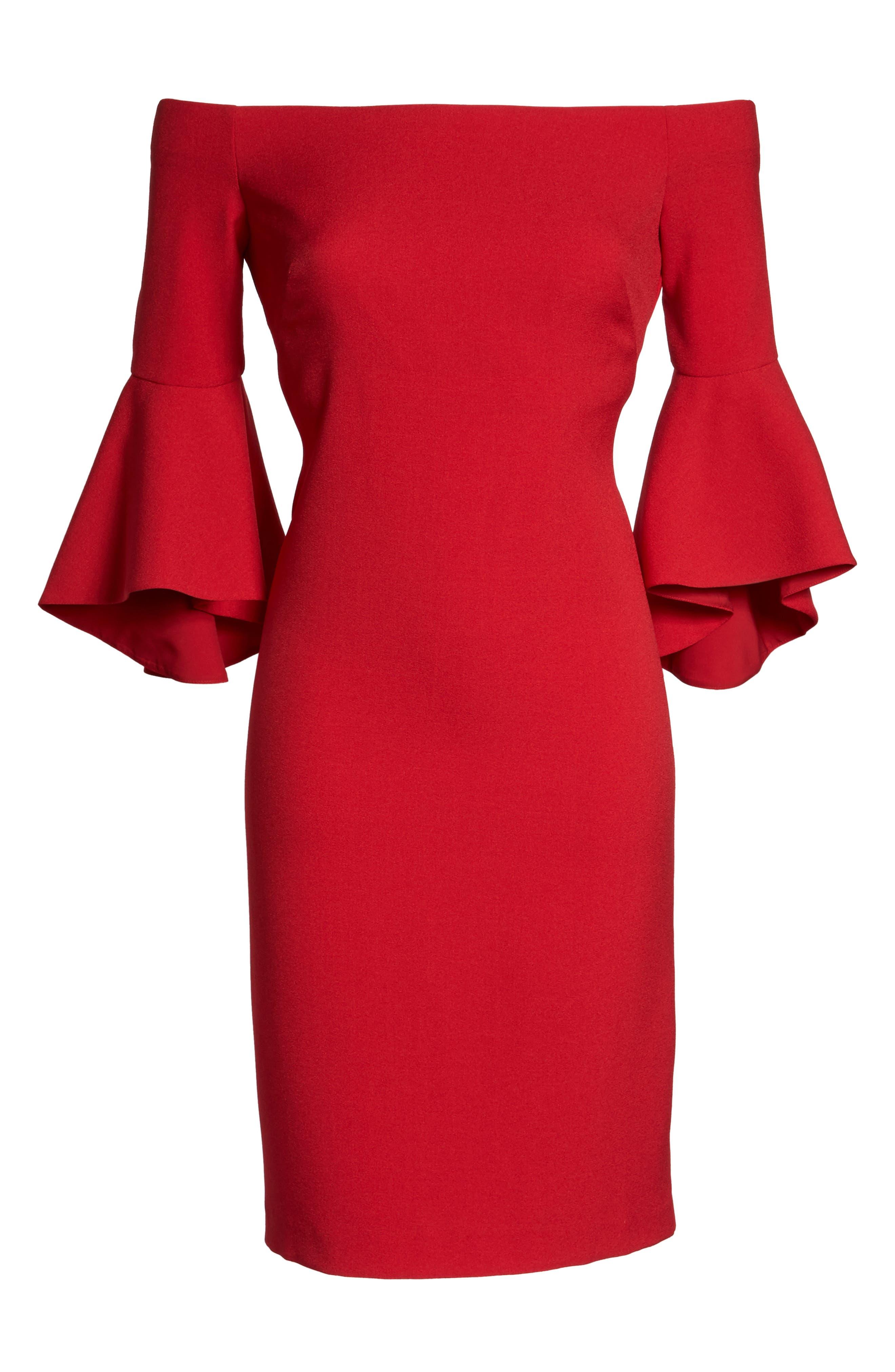 Alternate Image 6  - Chelsea28 Off the Shoulder Dress