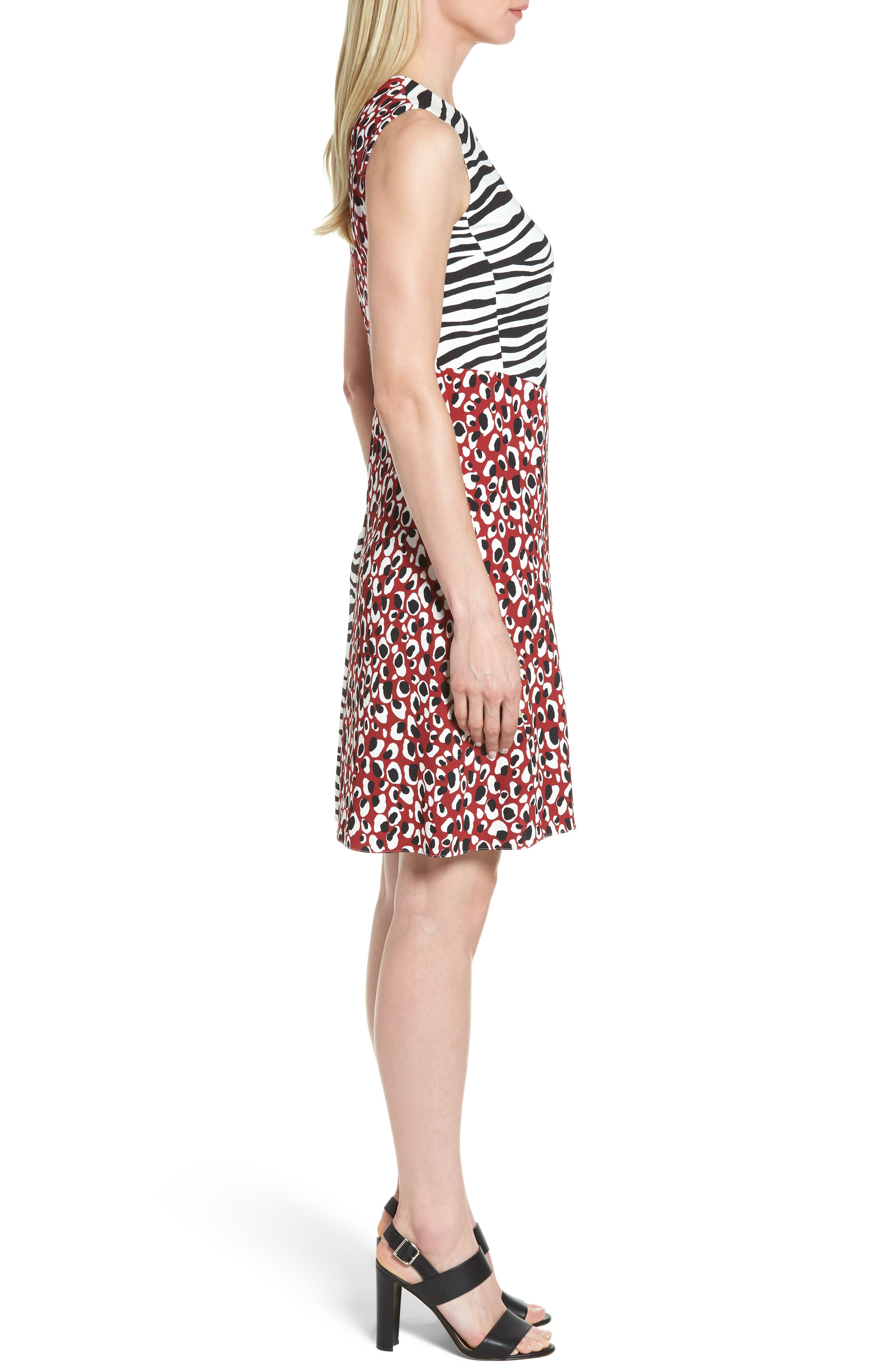 Alternate Image 3  - BOSS Diseba Animal Print Sheath Dress
