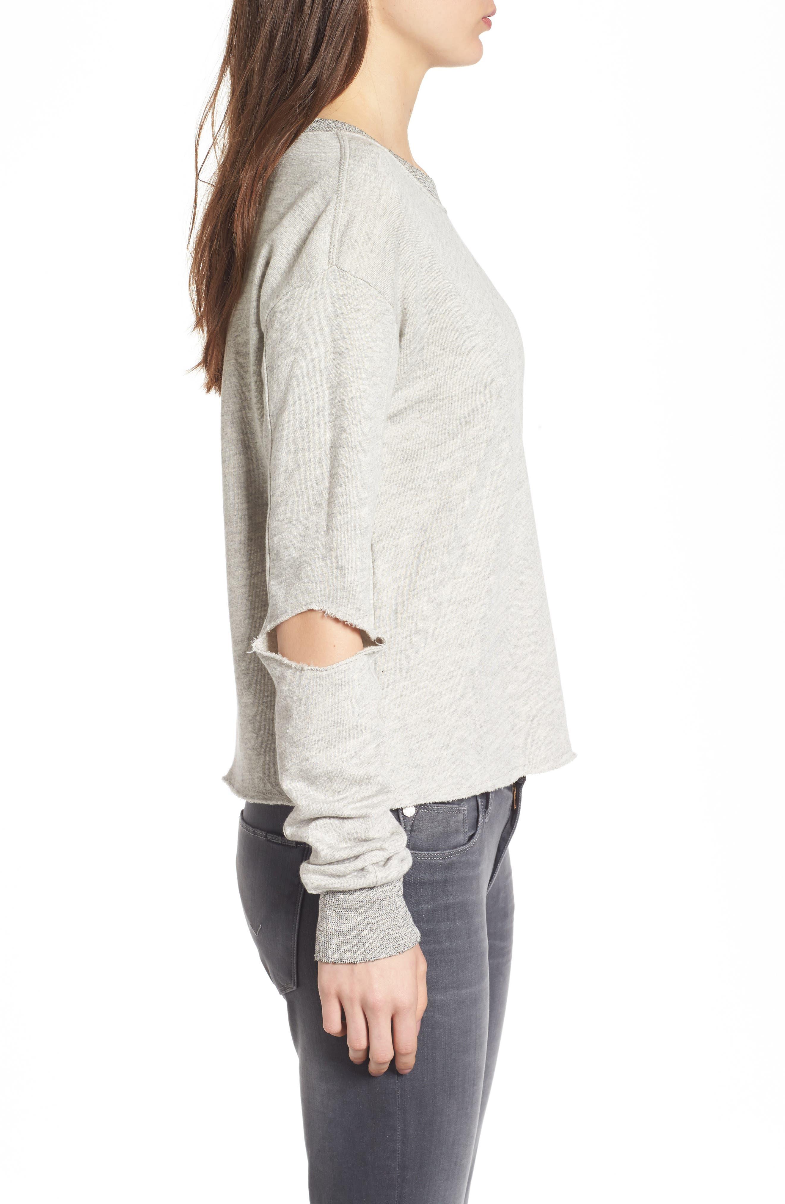 Alternate Image 3  - n:PHILANTHROPY Savannah Cutout Sweatshirt
